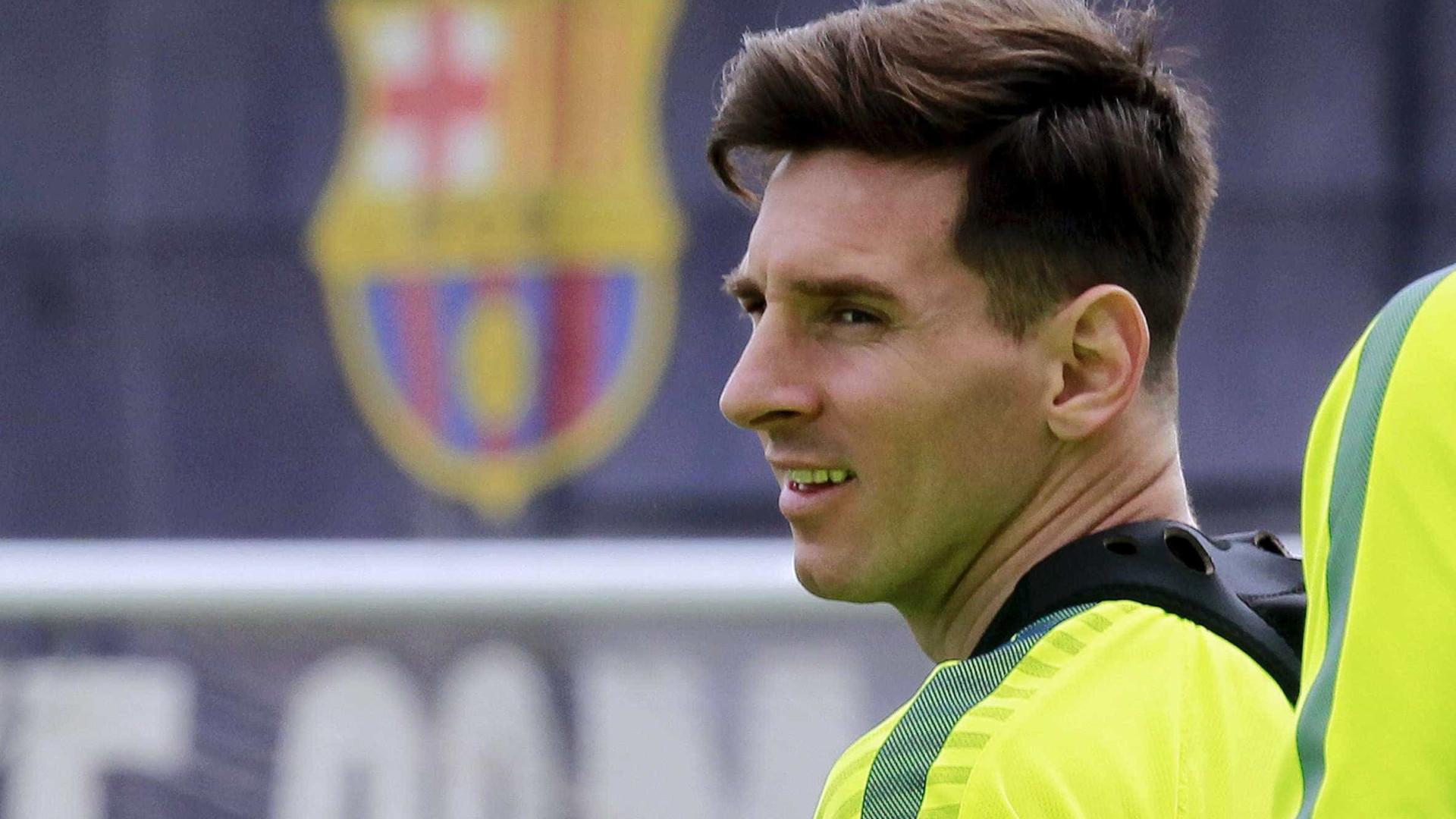 Messi inspira-se na Sagrada Família para nova tatuagem