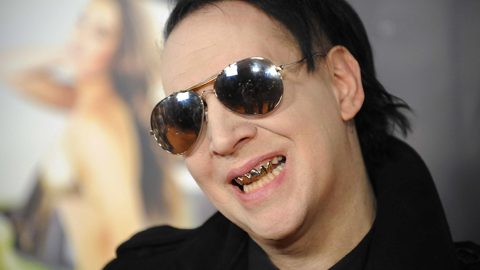 """Marilyn Manson: """"O massacre de Columbine destruiu a minha carreira"""""""