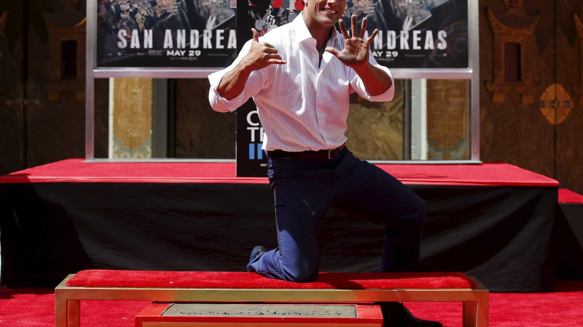 Dwayne Johnson é o ator mais bem pago de sempre