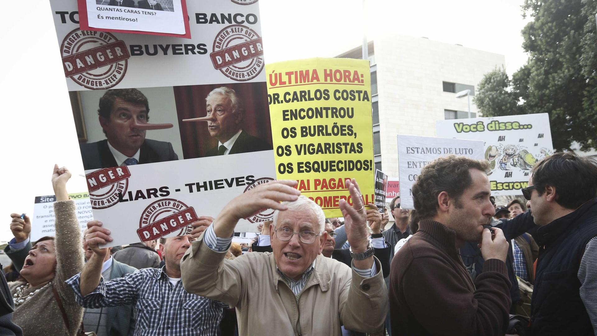 Lesados protestam hoje frente à sede do PS que acusam de falhar promessa