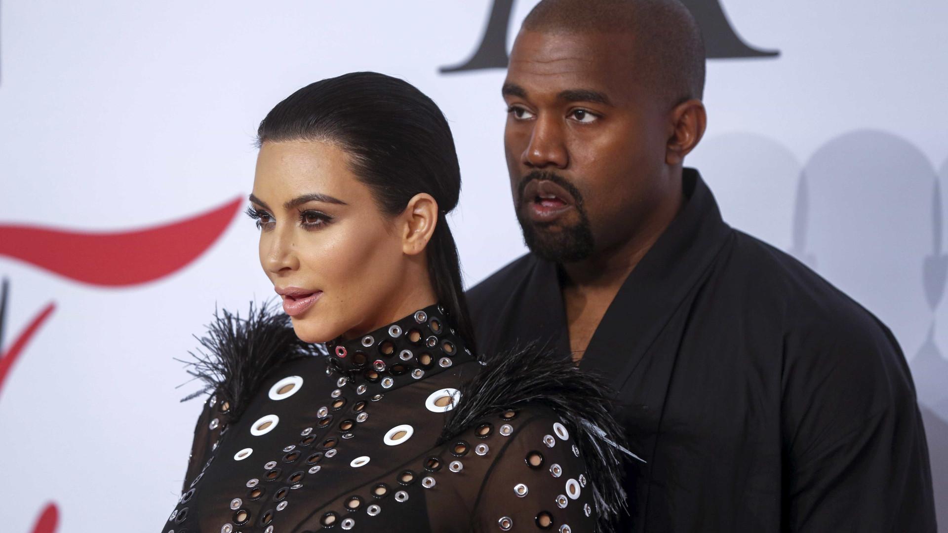 Já nasceu a terceira filha de Kim Kardashian e Kanye West