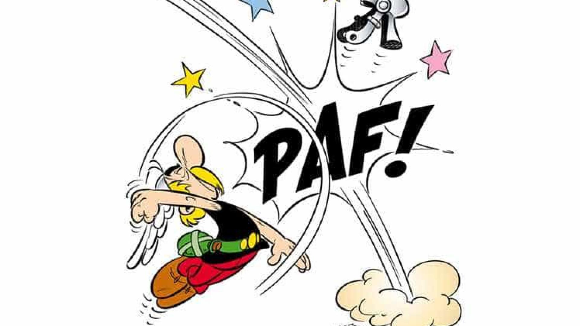 PS usa cartoon de Astérix para ridicularizar coligação