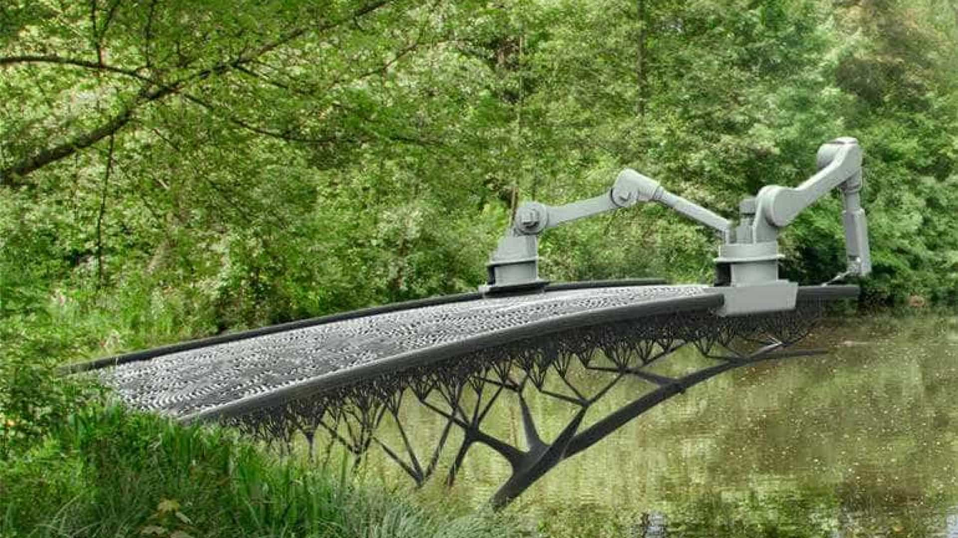 Impressora 3D construirá ponte sobre canal