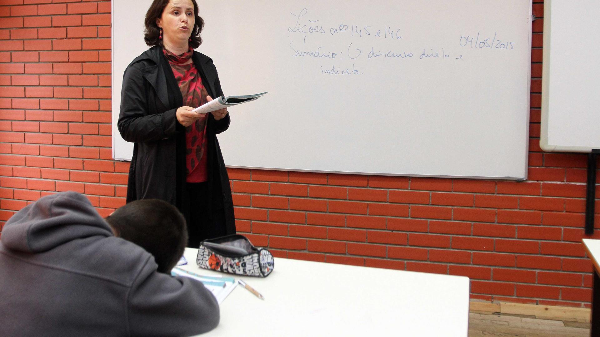 Professores vão ter concurso extraordinário para corrigir colocações