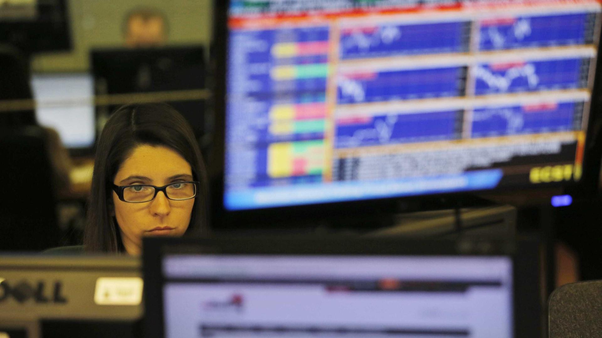 Bolsas europeias seguem negativas à espera de resultados do 2.º trimestre