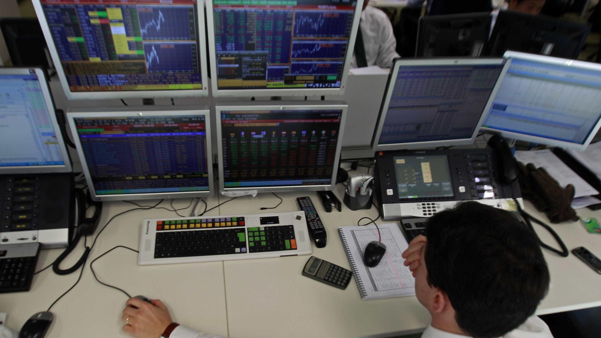 Bolsas europeias em baixa à espera dos preços da produção nos EUA