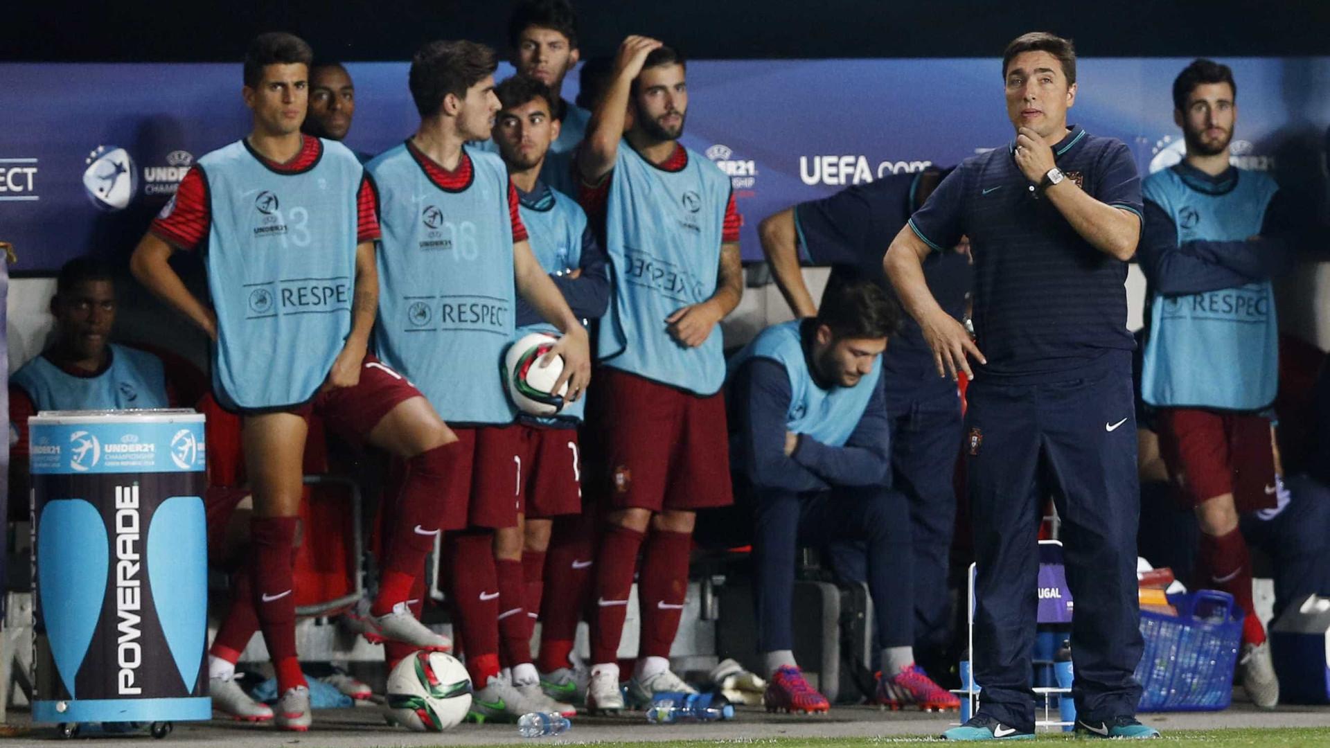 Seleção sub-21 já conhece os adversários no Europeu