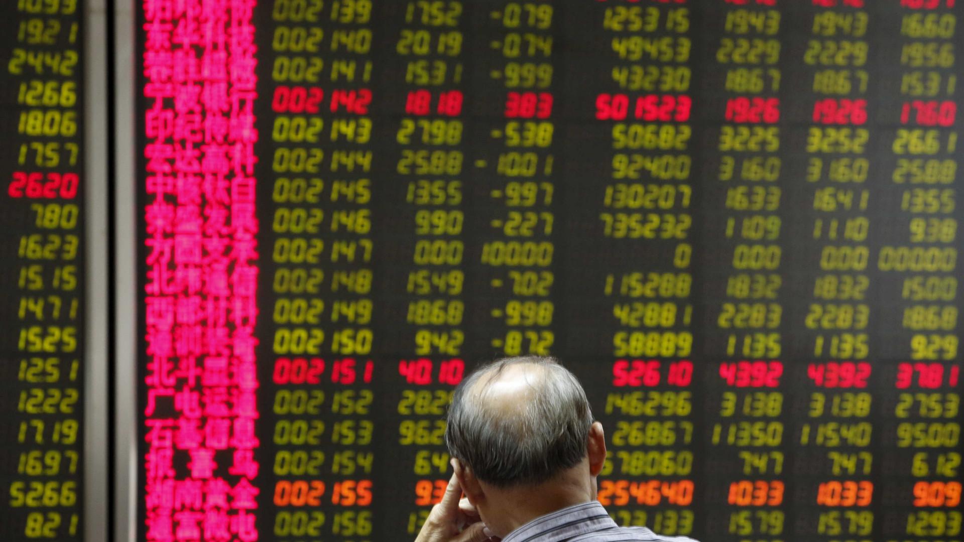 Bolsa de Xangai abriu com queda de 0,24%