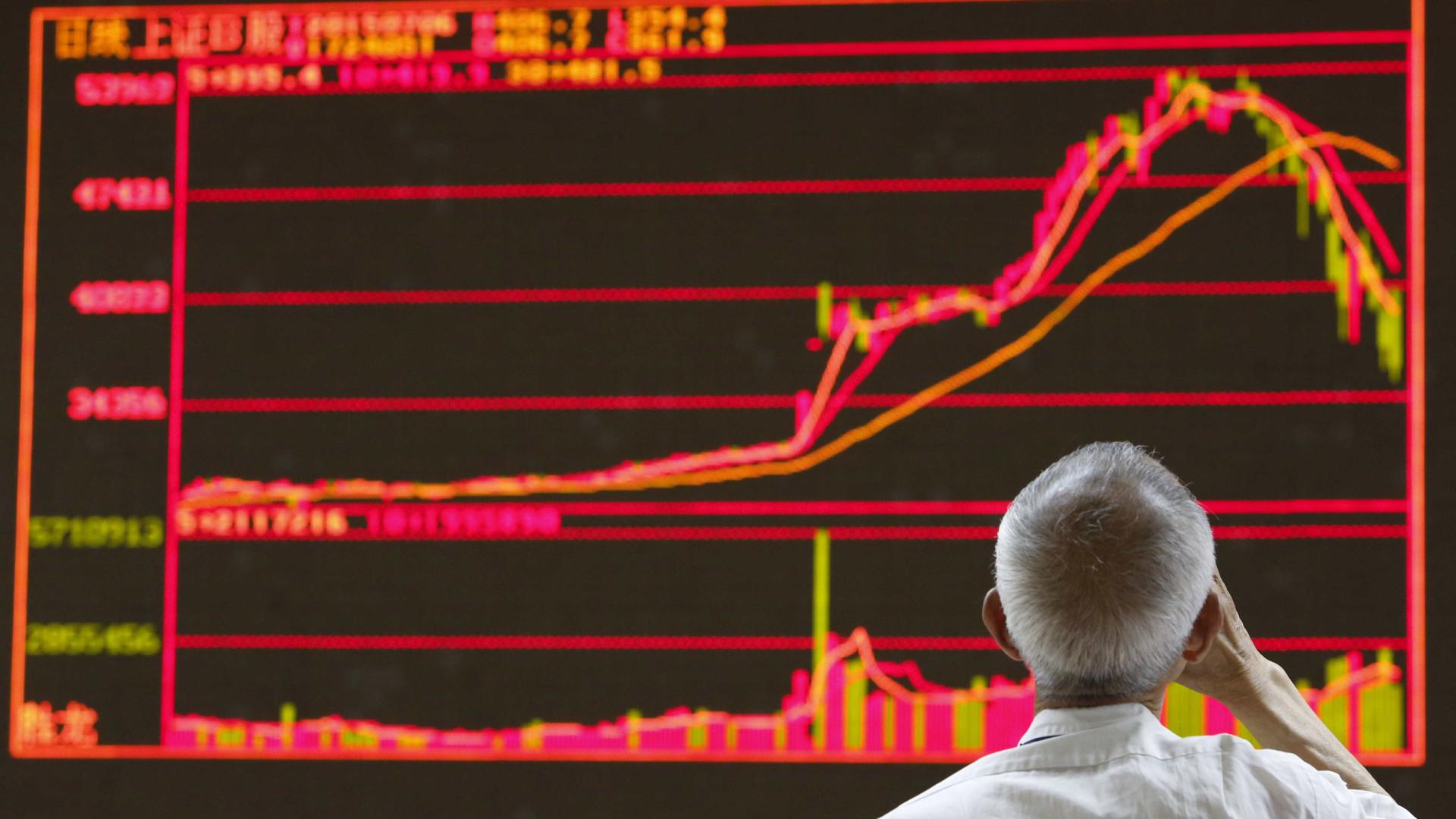China fecha com ganhos fortes
