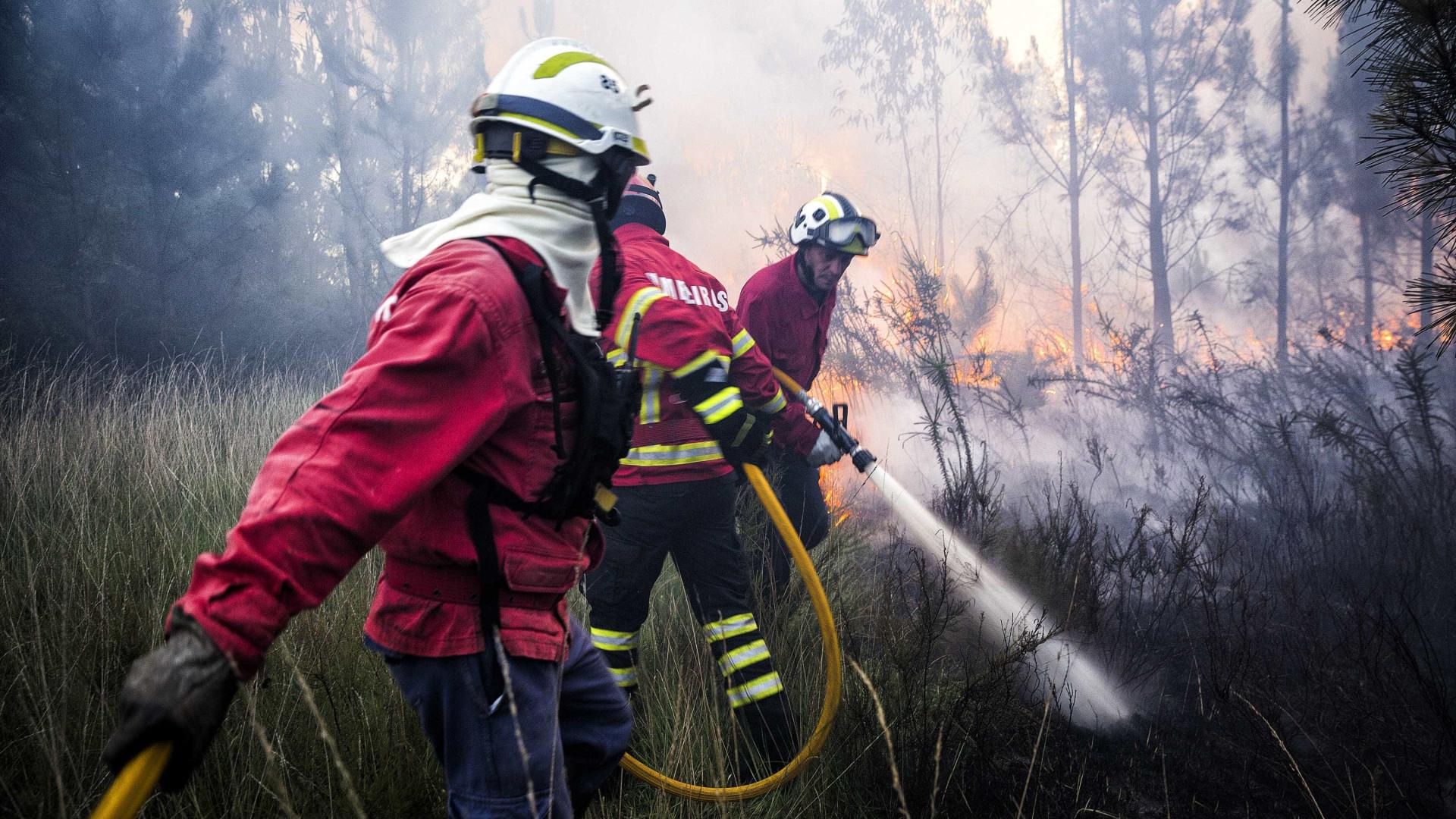 Incêndio em Oleiros mobiliza mais de 170 operacionais