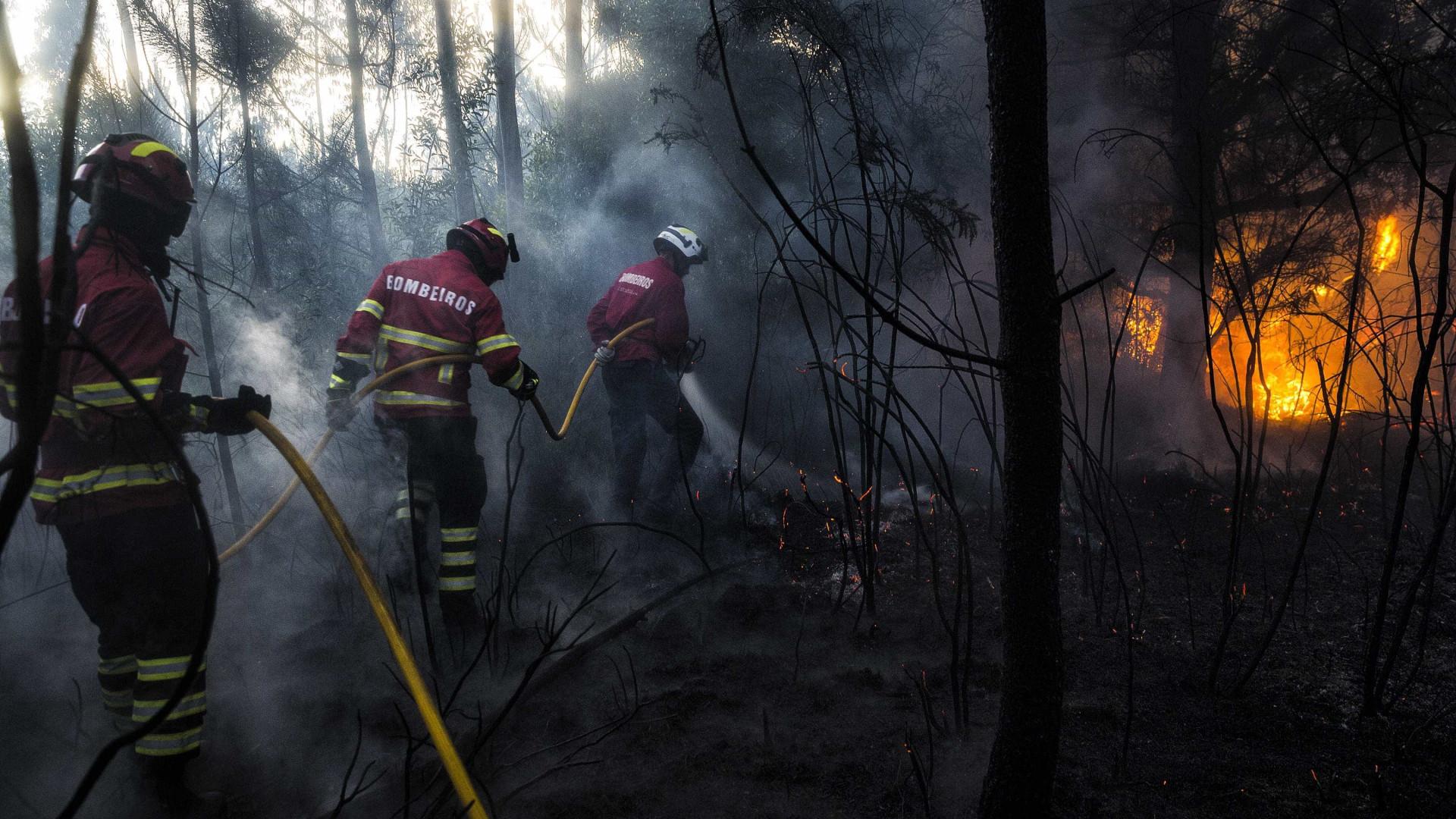 Número de vítimas mortais dos incêndios sobe para 41