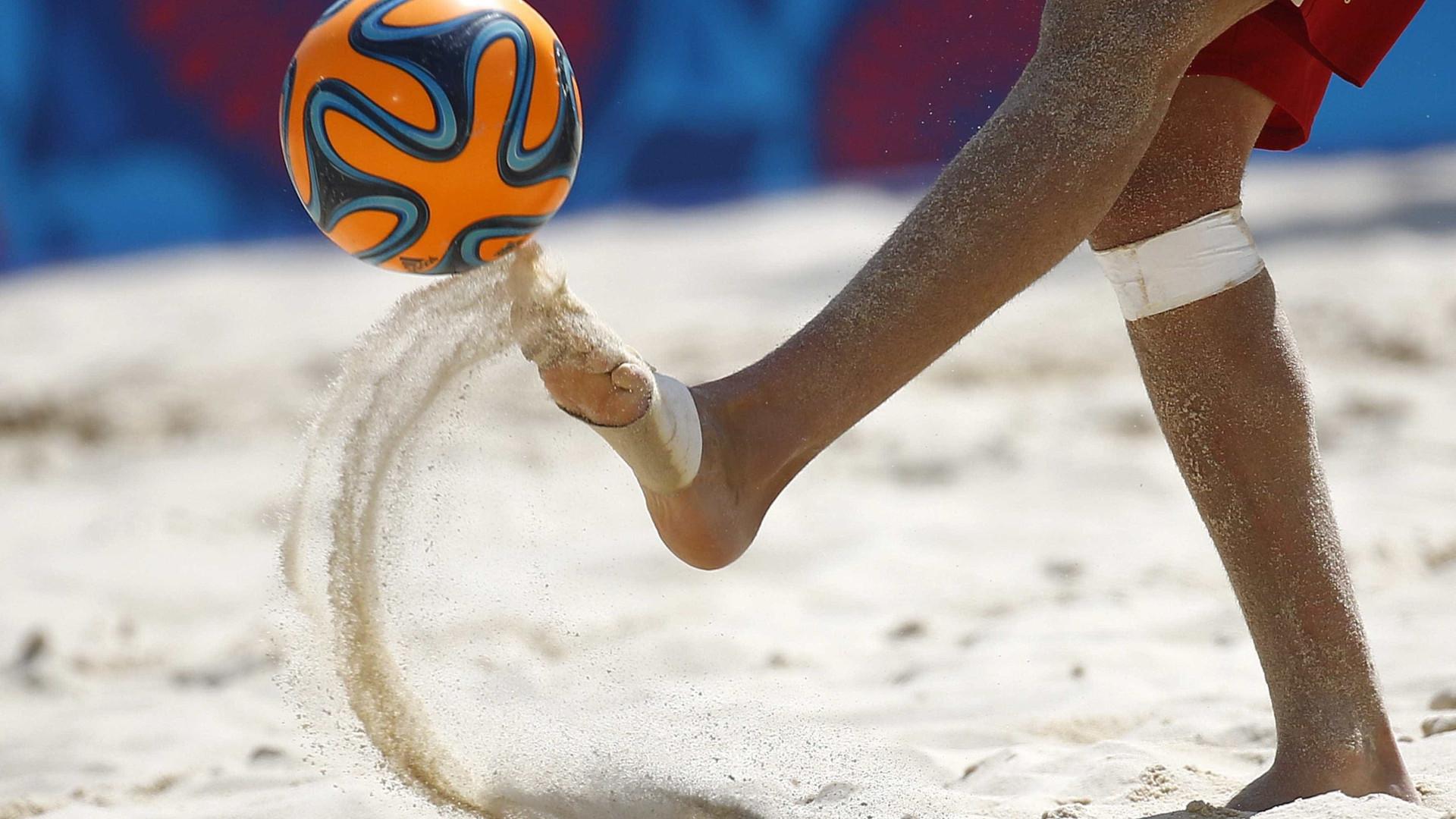 Portugal derrotado na Superfinal da Liga Europeia de futebol de praia