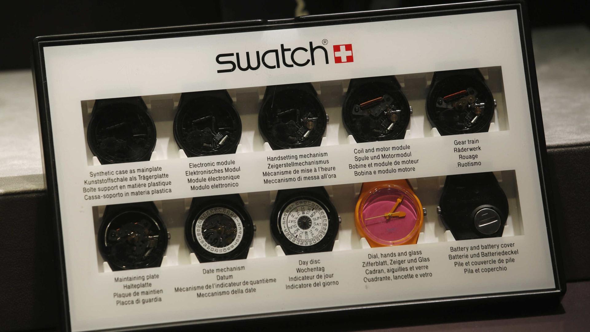 Relógio inteligente da Swatch já tem data prevista
