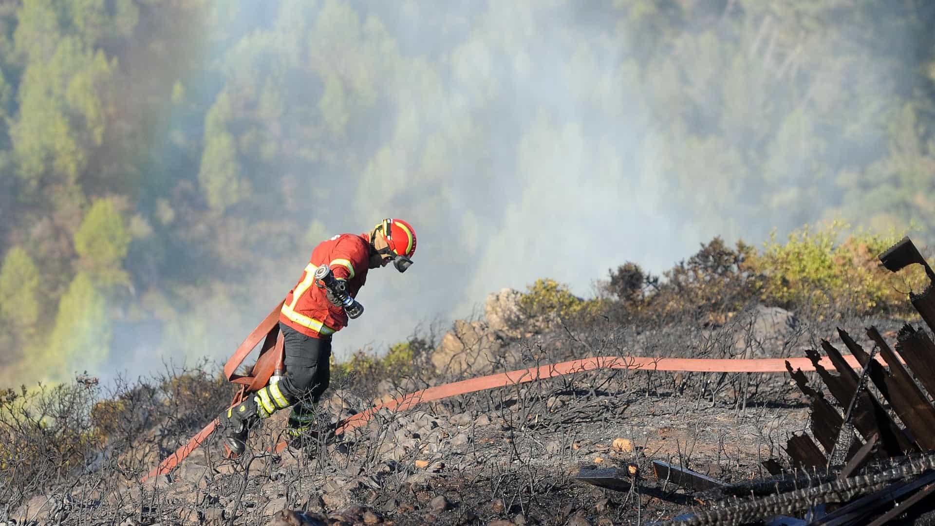Nove concelhos do país em risco muito elevado de incêndio