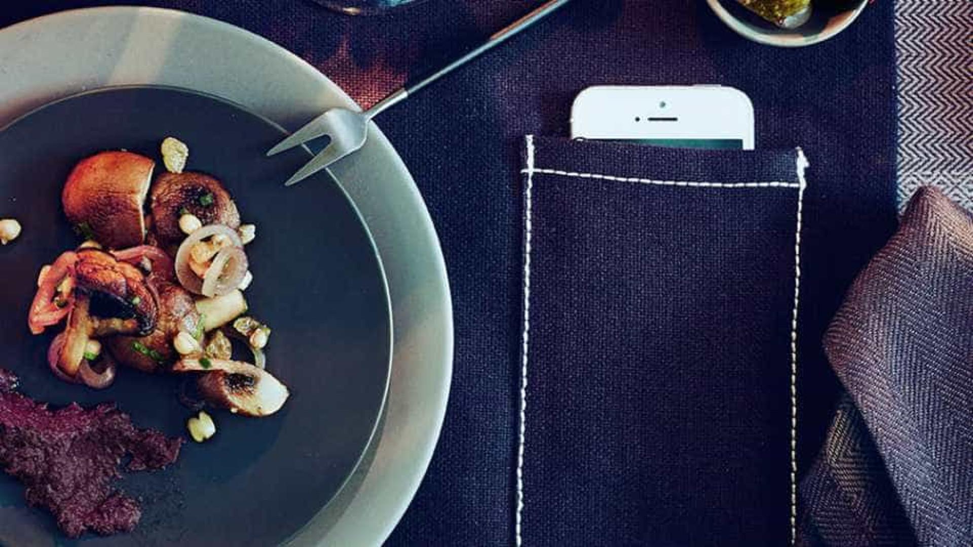 Jantar sem consultar o smartphone? Uma em três pessoas não consegue