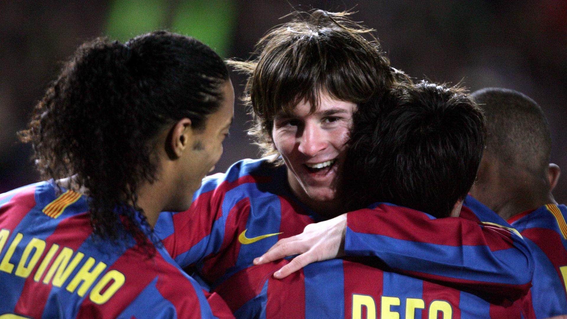 """Messi e Ronaldo? Para Deco, o """"melhor de sempre"""" não é nenhum deles"""