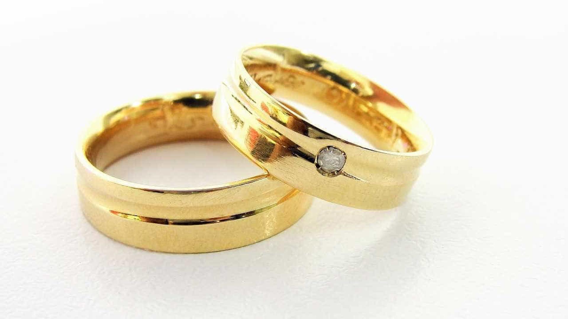 Quanto maior o anel, mais curto o casamento