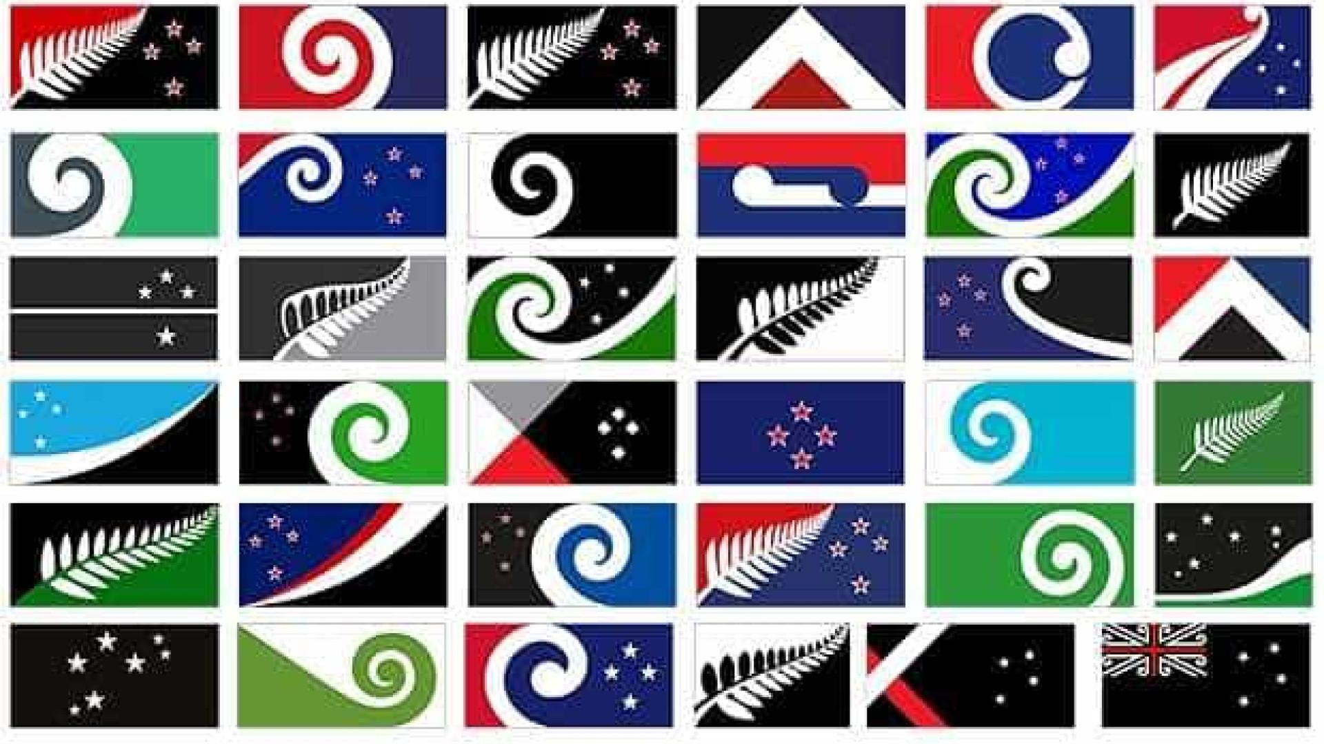 Nova bandeira na Nova Zelândia? Já há mais de 10 mil sugestões