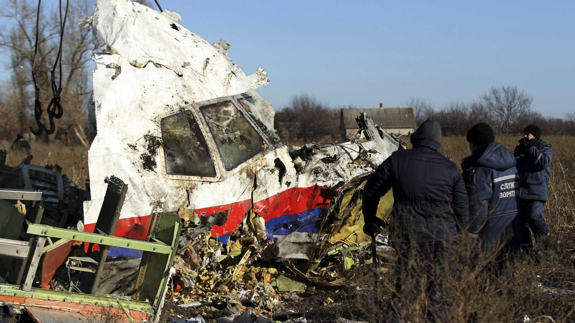 Forças russas dispararam míssil que atingiu voo da Malaysia Airlines