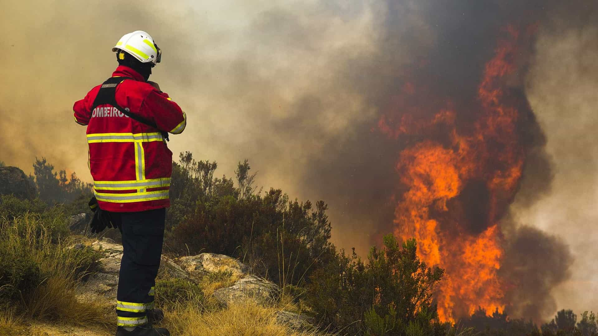 Doze fogos mobilizam quase 2.300 operacionais e 18 meios aéreos