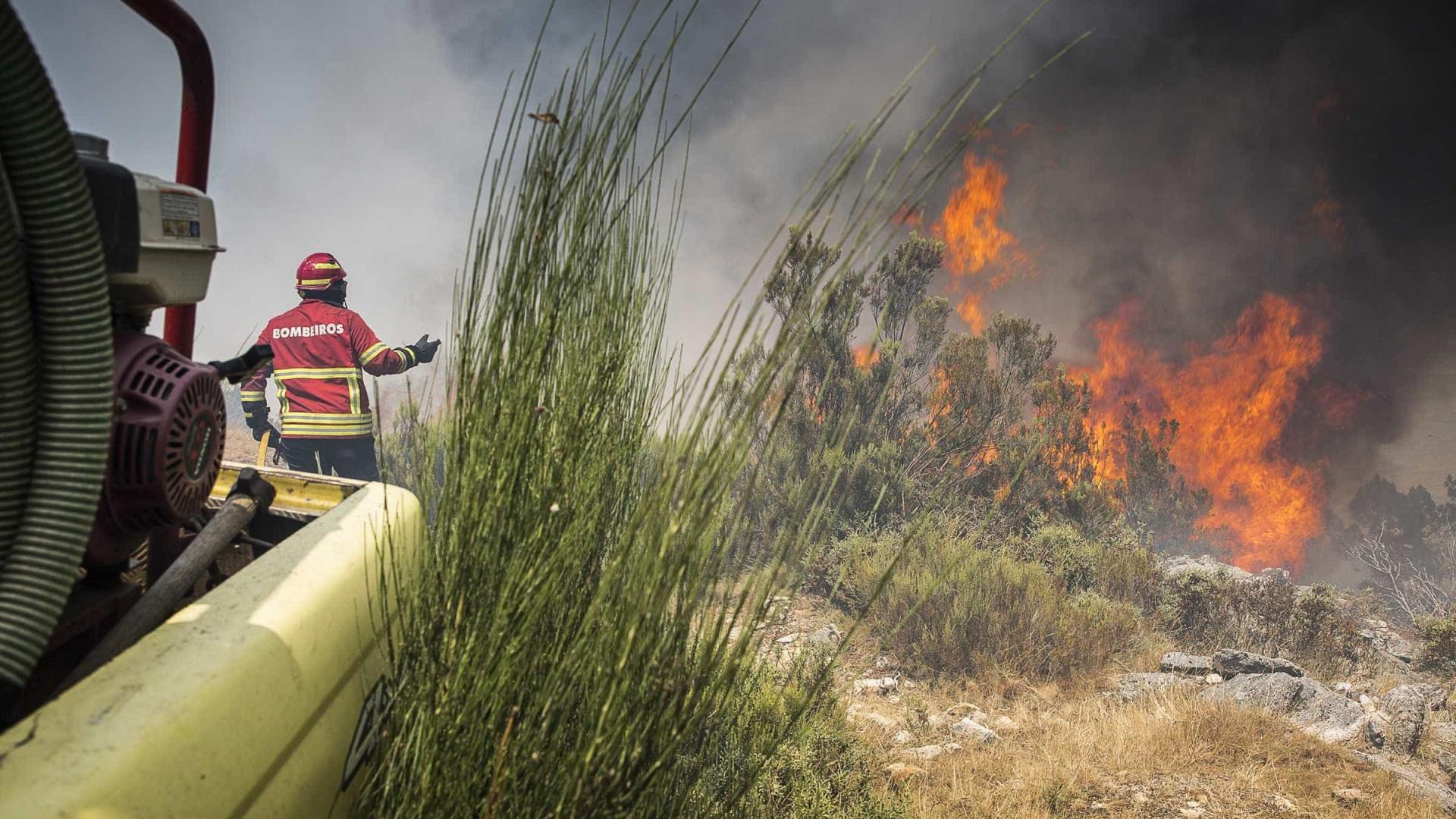 Resultado de imagem para Mais de 15 concelhos apresentam hoje risco máximo de incêndio