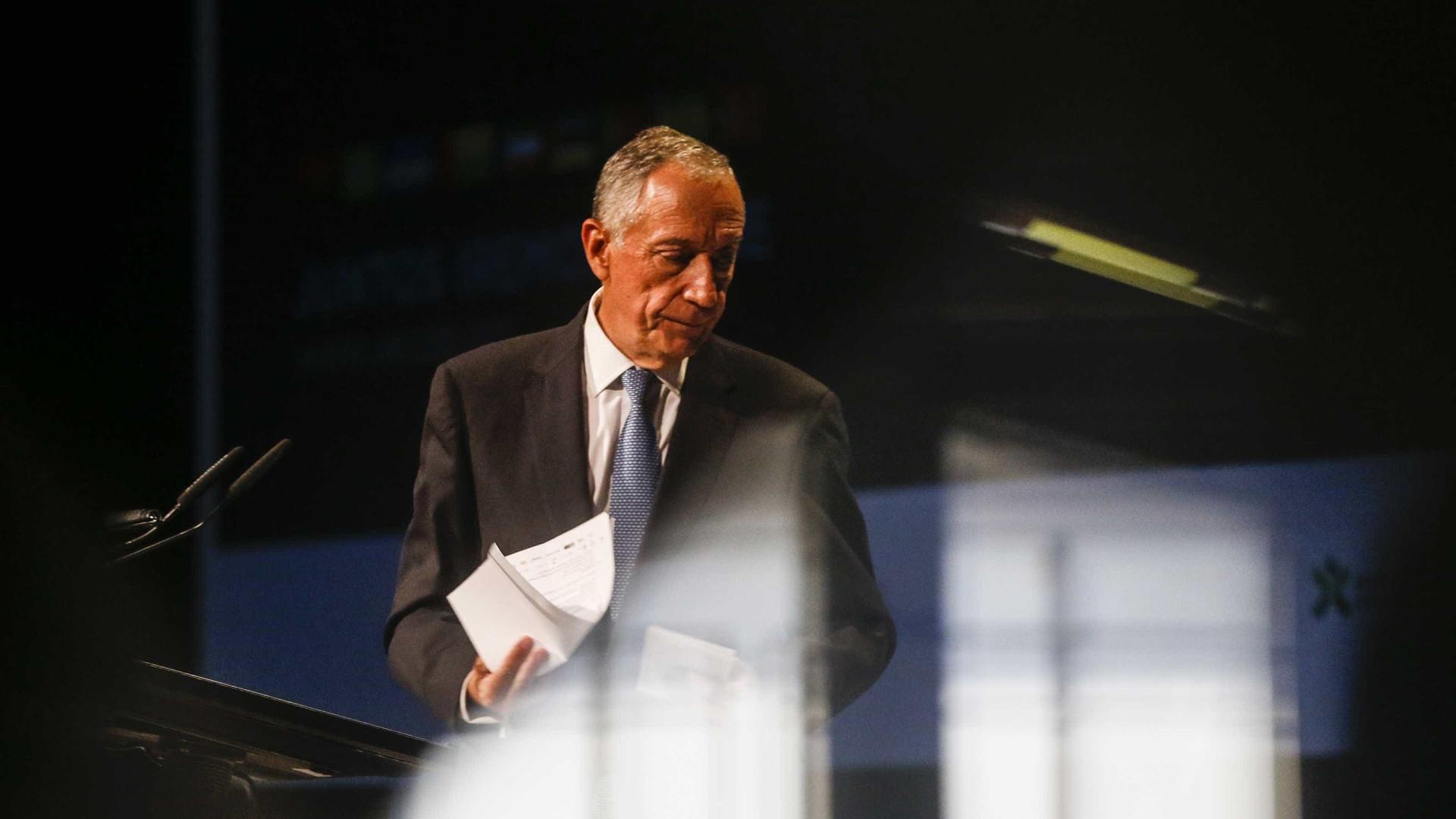 CNE adia decisão de queixa contra Presidente da República em Cascais