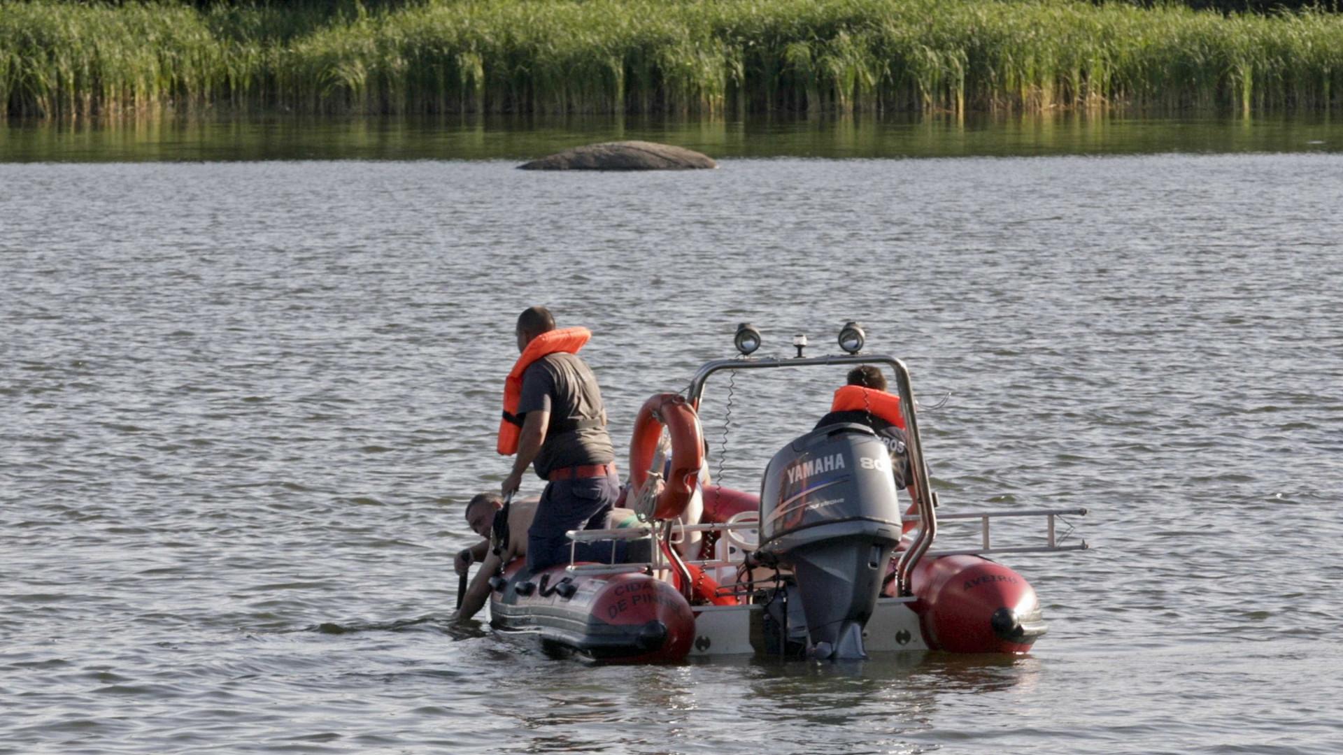 Retomadas buscas pelo homem desaparecido em barragem do Alandroal