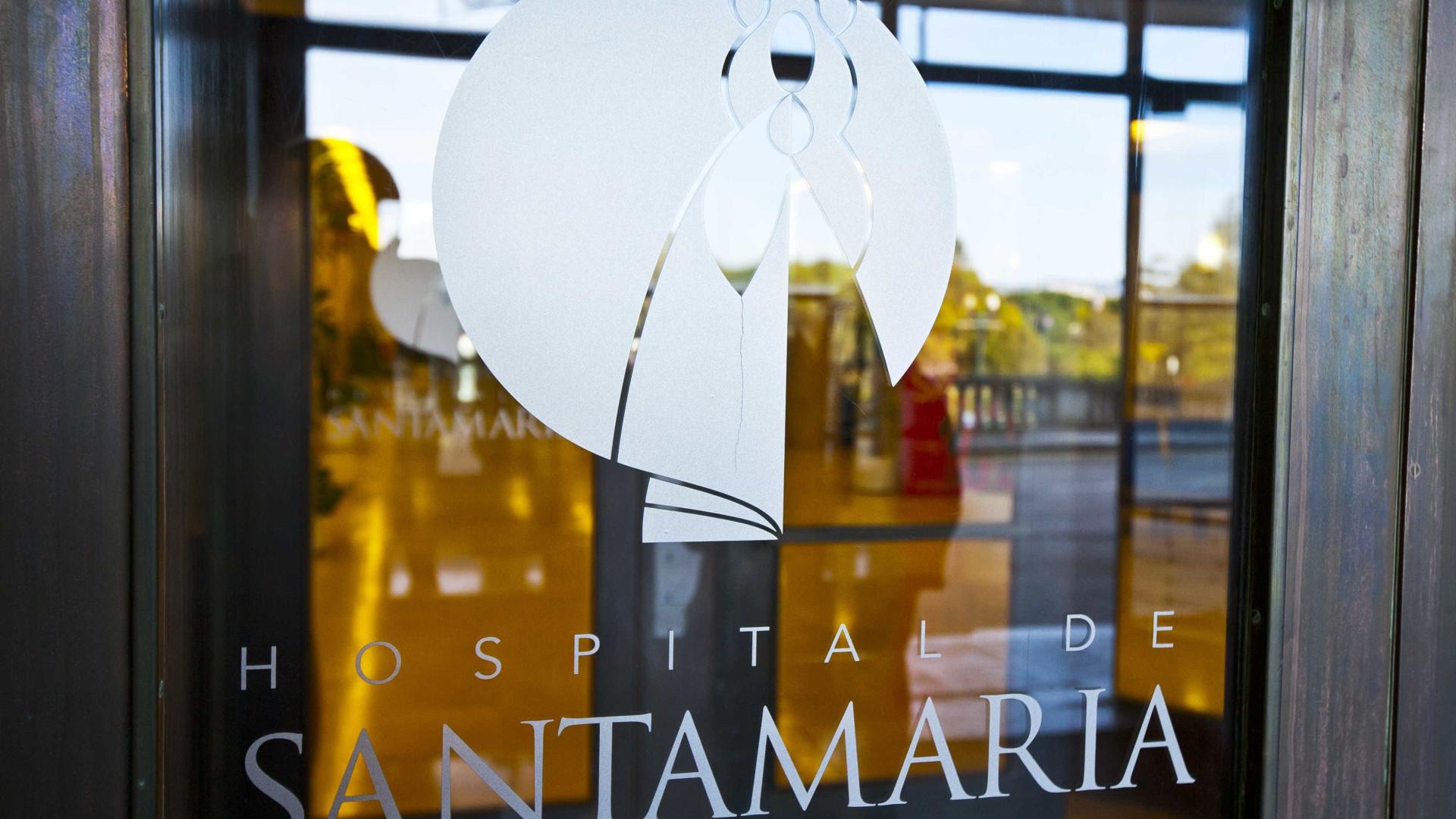 Adesão de 75% na greve dos trabalhadores no Hospital Sta. Maria