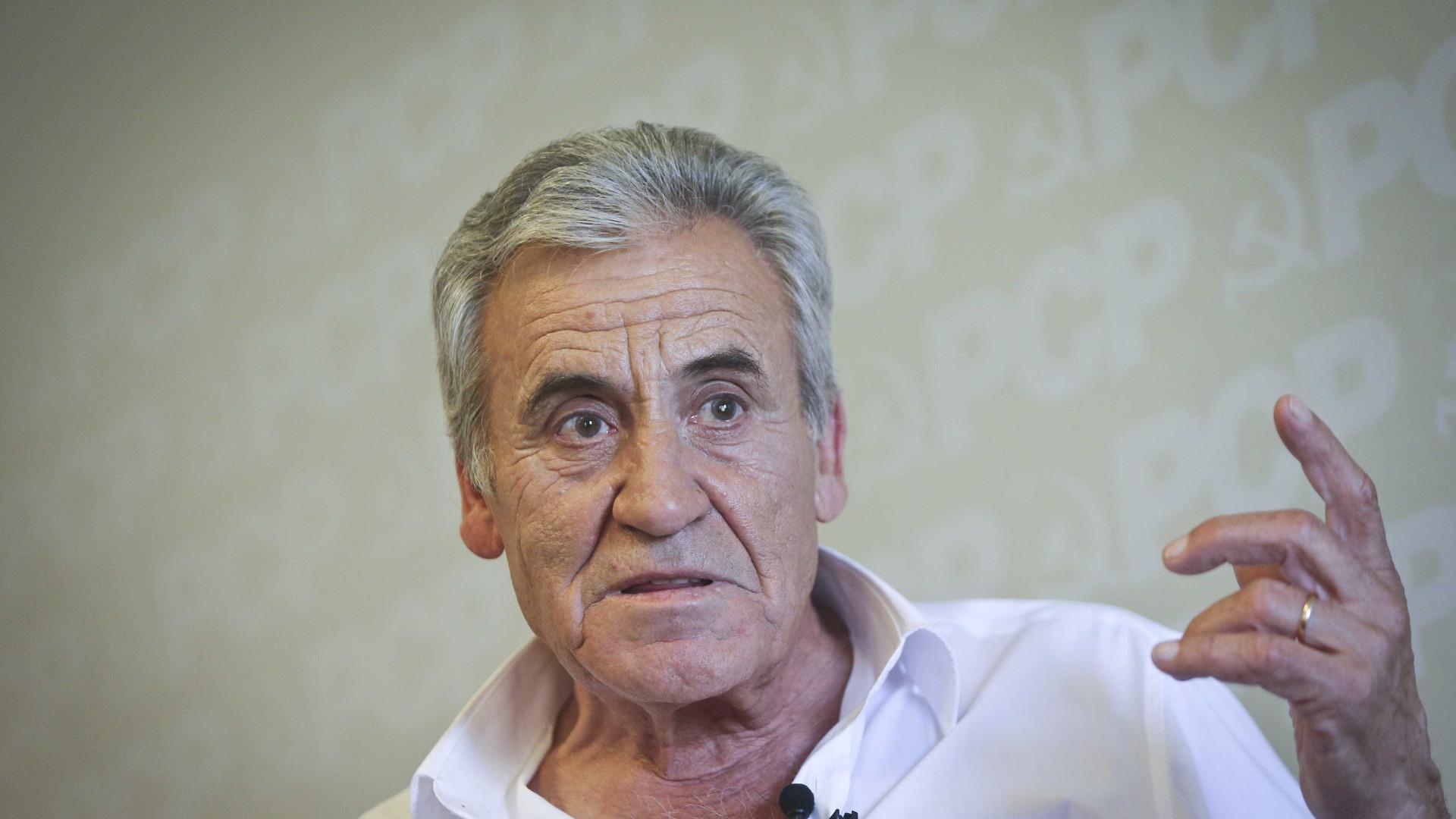 Jerónimo pede mais votos pelo SNS, solidário com médicos e enfermeiros
