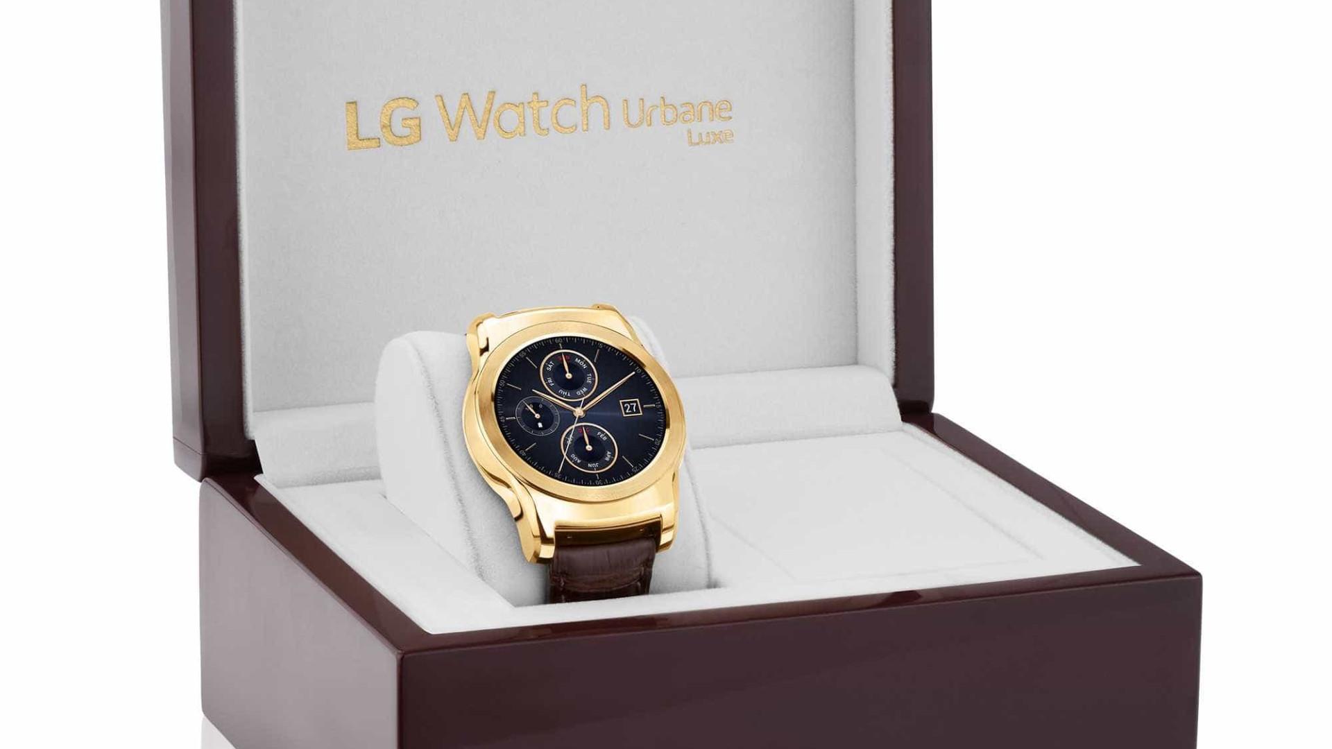 LG pode vir a lançar relógio com câmara