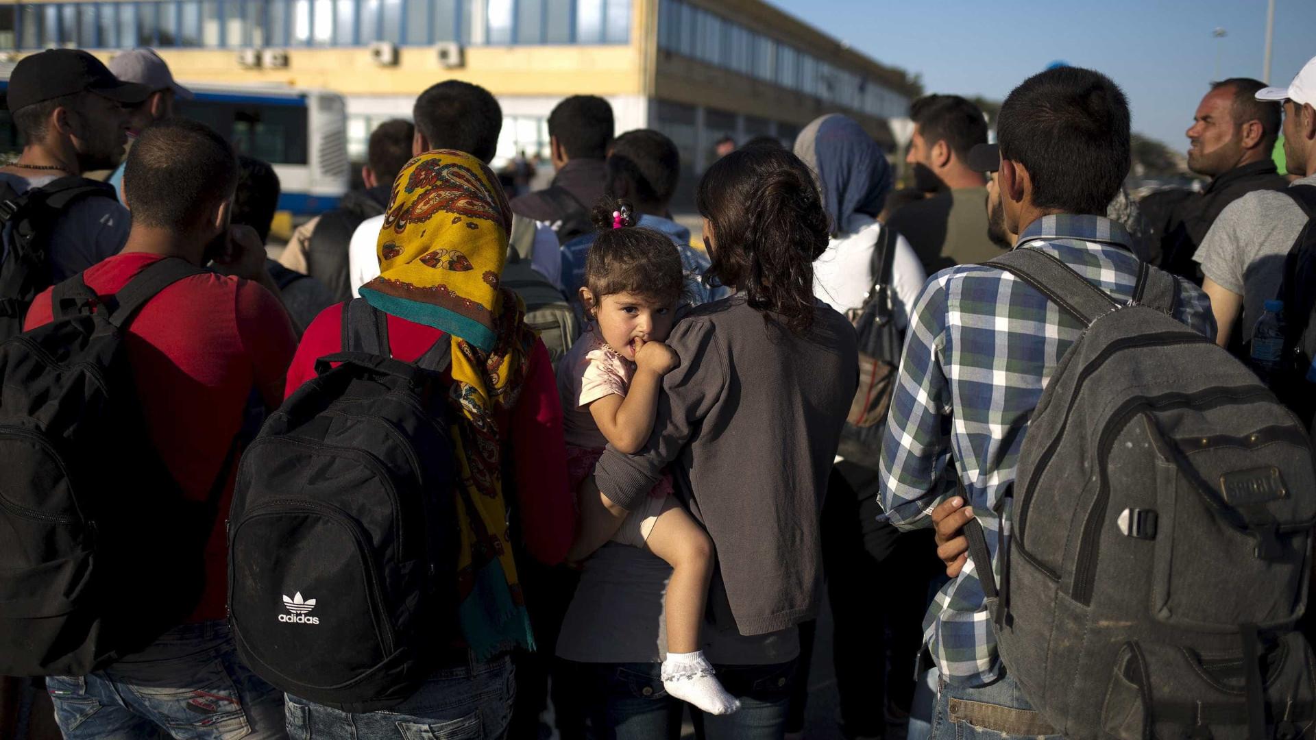 Apenas 50 refugiados aceitaram vir para Portugal