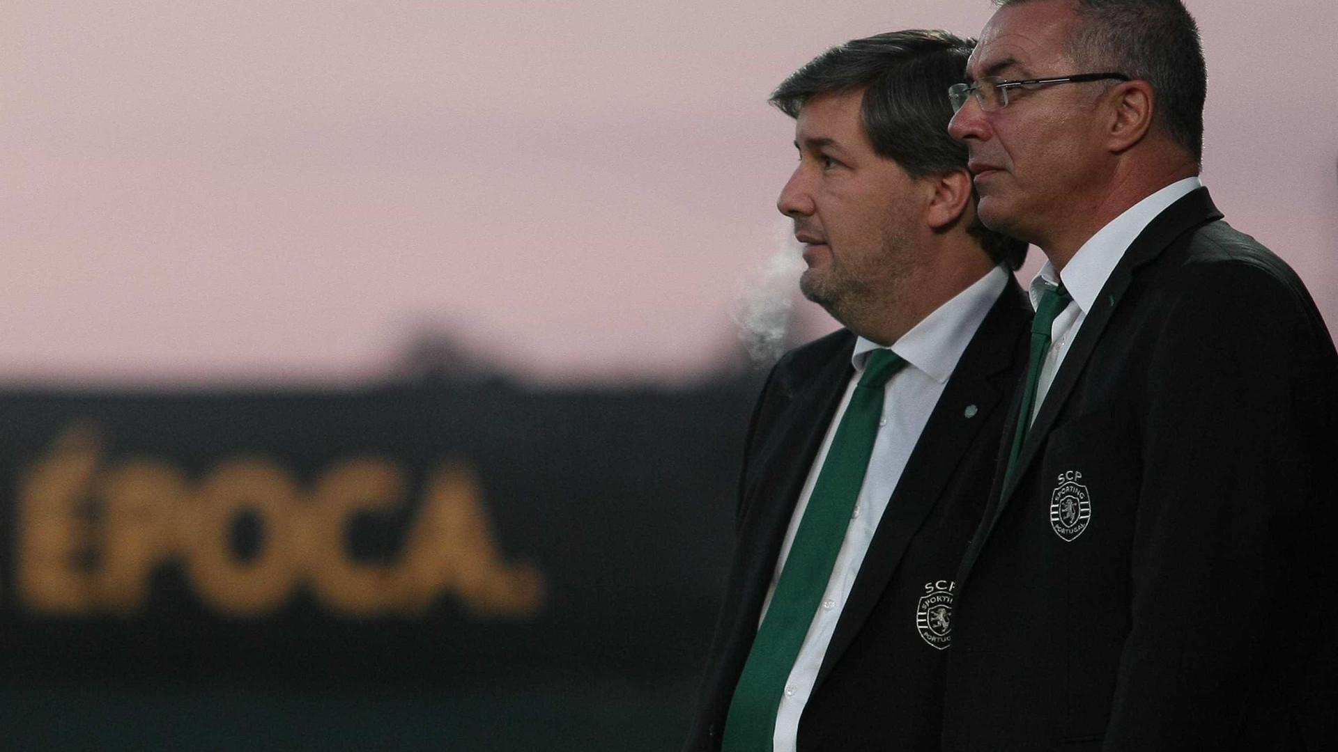 Augusto Inácio é o novo diretor geral do futebol do Sporting