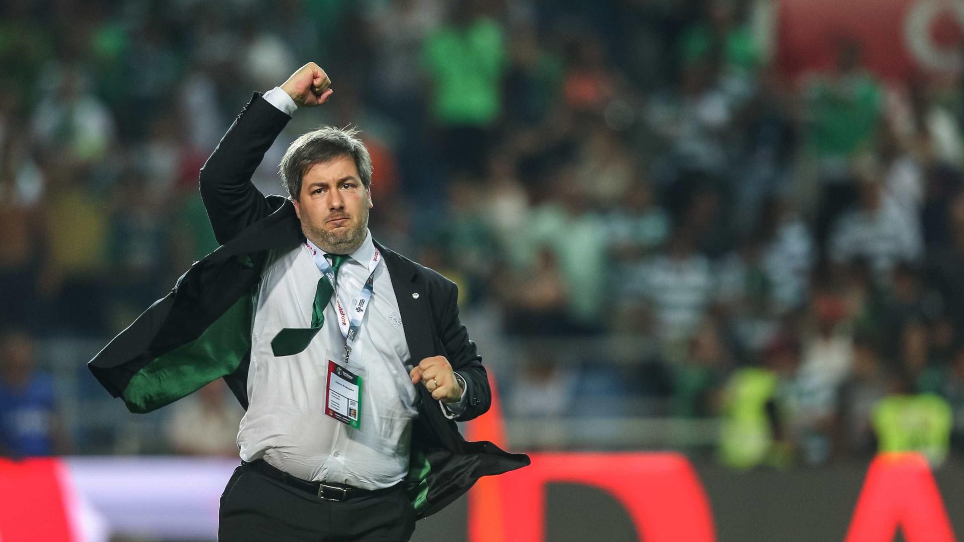 Presidente do Sporting voltou a picar o rival FC Porto 643299e6accb1