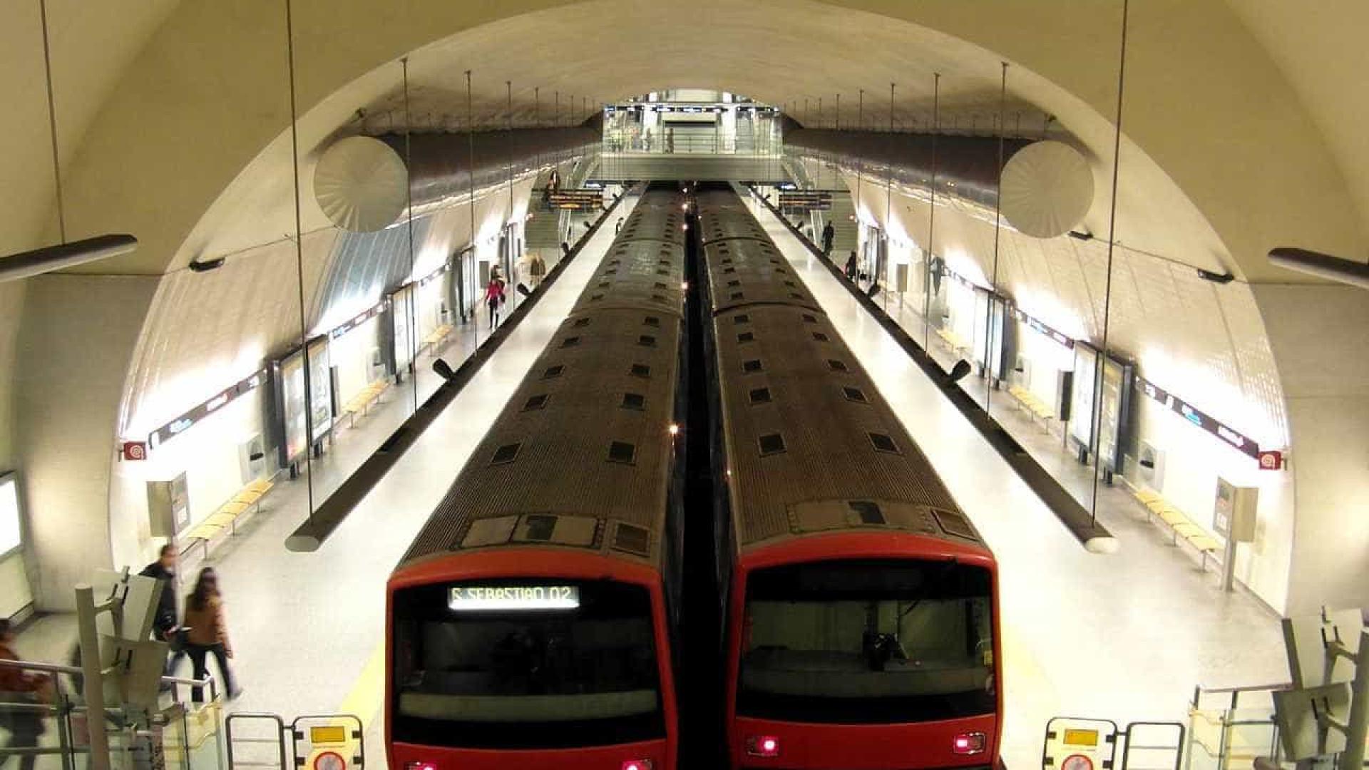 Ligação do metro de Lisboa à Linha de Sintra é inaugurada na quarta