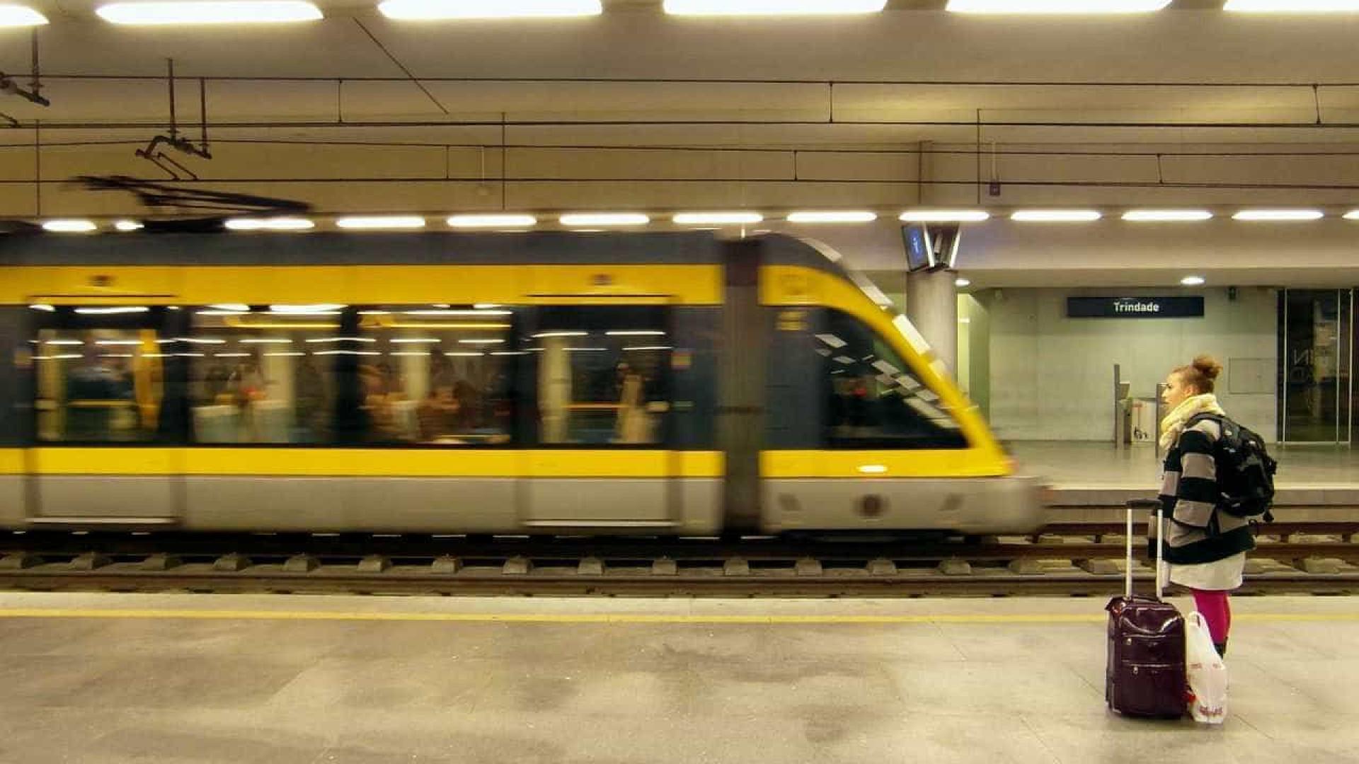 """Metro do Porto com serviço """"muito reduzido"""" amanhã devido a greve"""