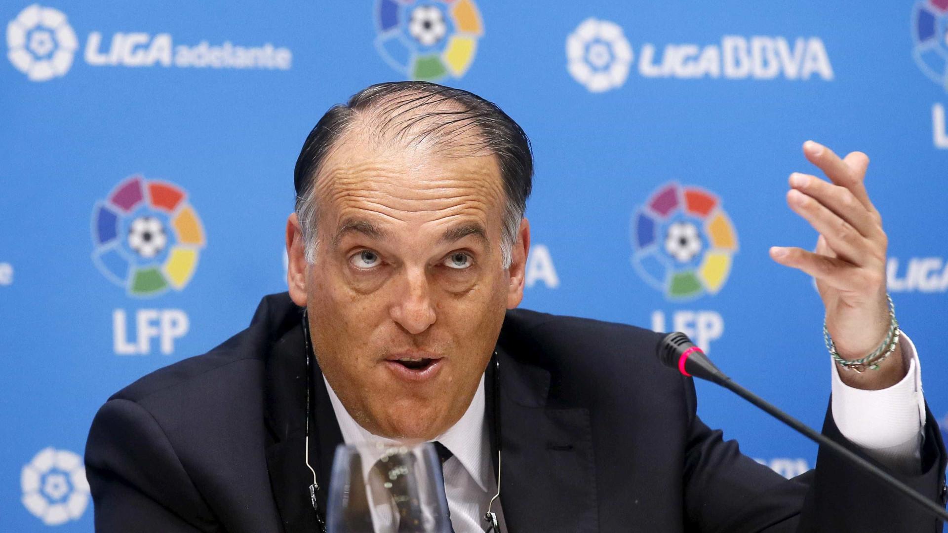 Presidente da Liga Espanhola ataca Neymar e Paris Saint-Germain