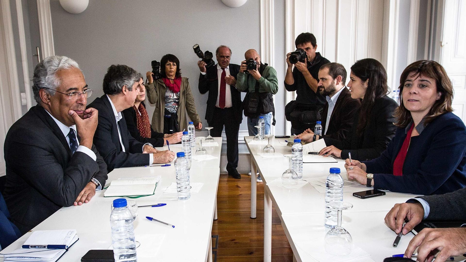 António Costa recebe às 17h Catarina Martins para reunião de trabalho