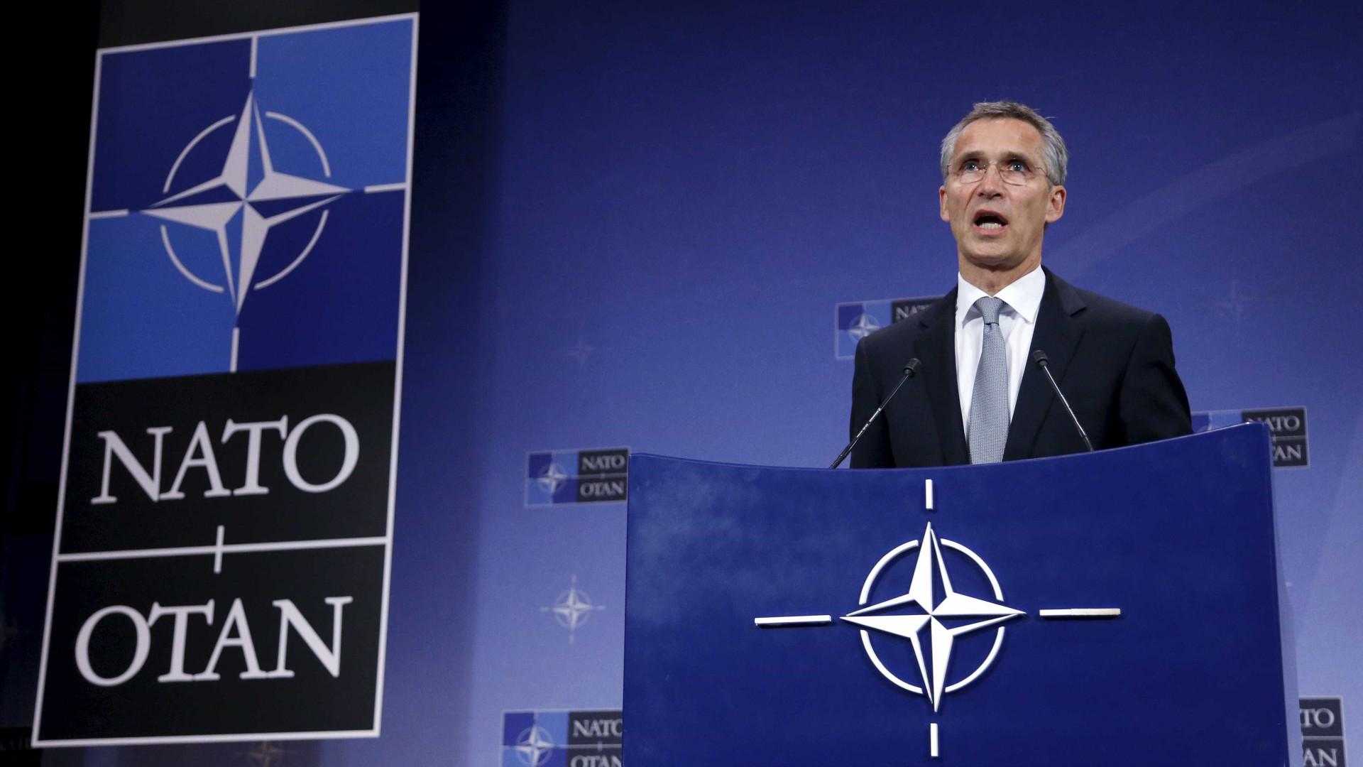 Secretário-geral da NATO nos EUA pela primeira vez após eleição de Trump