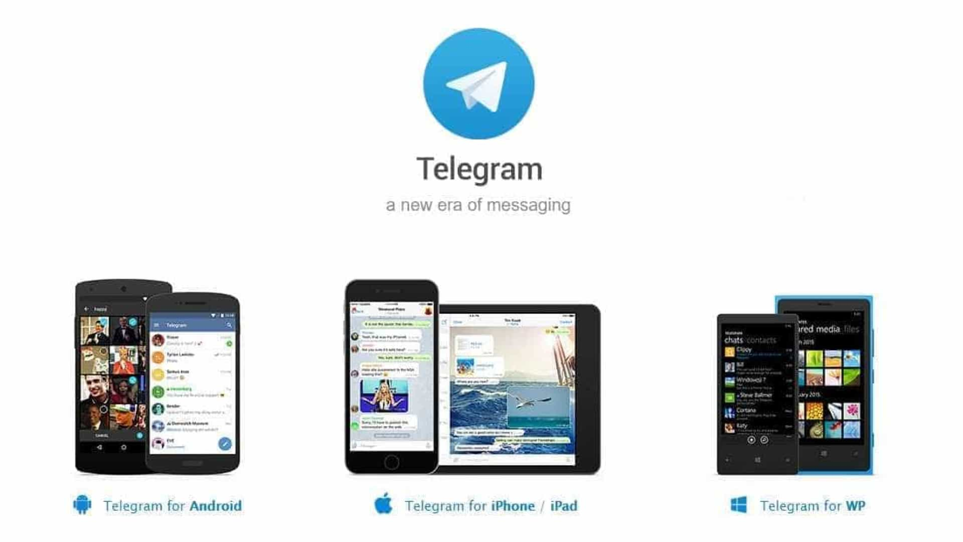 Telegram, a única app de mensagens que lhe permite fazer compras
