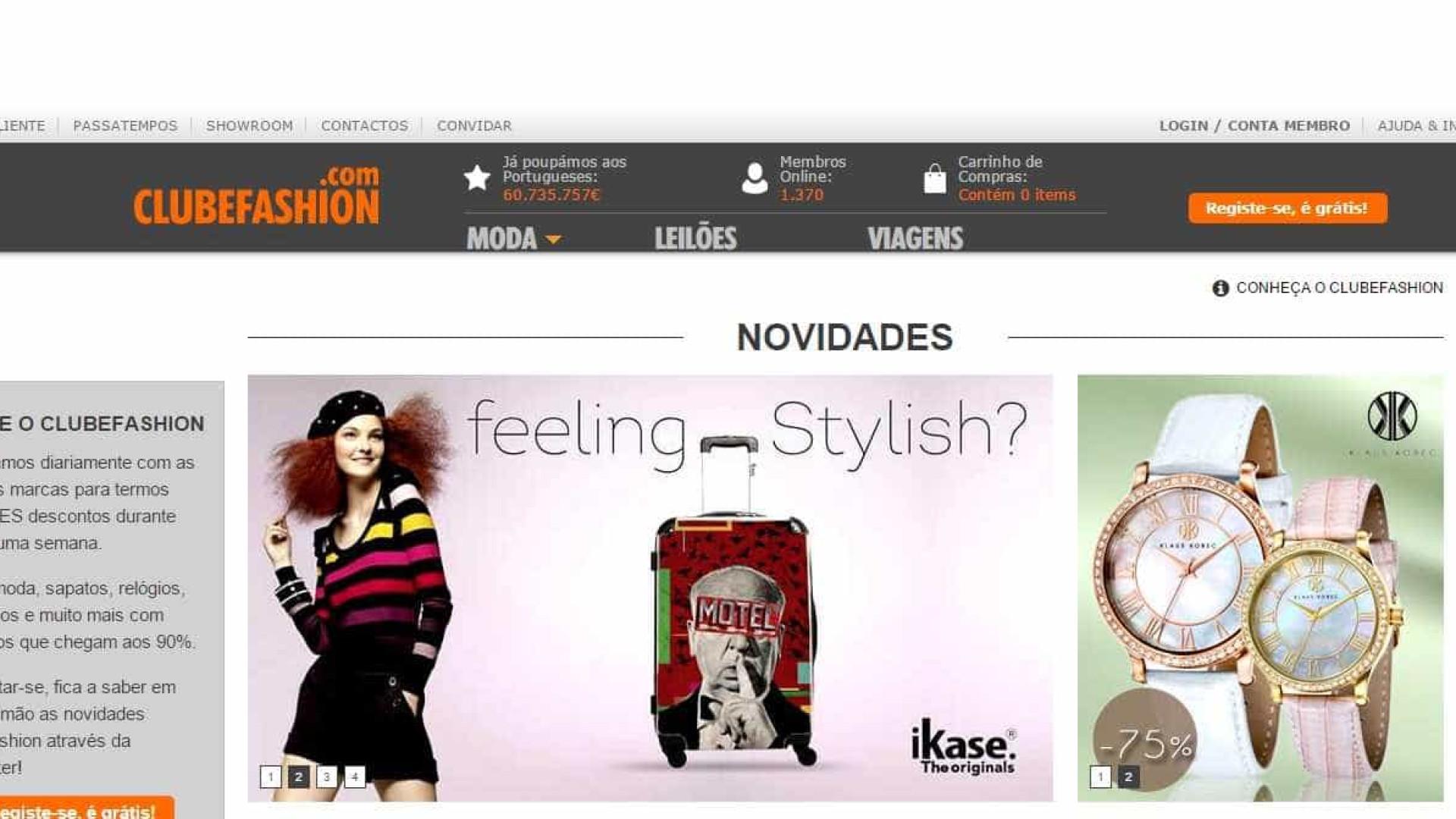 Faz compras no site ClubeFashion? Portal da Queixa desaconselha-o