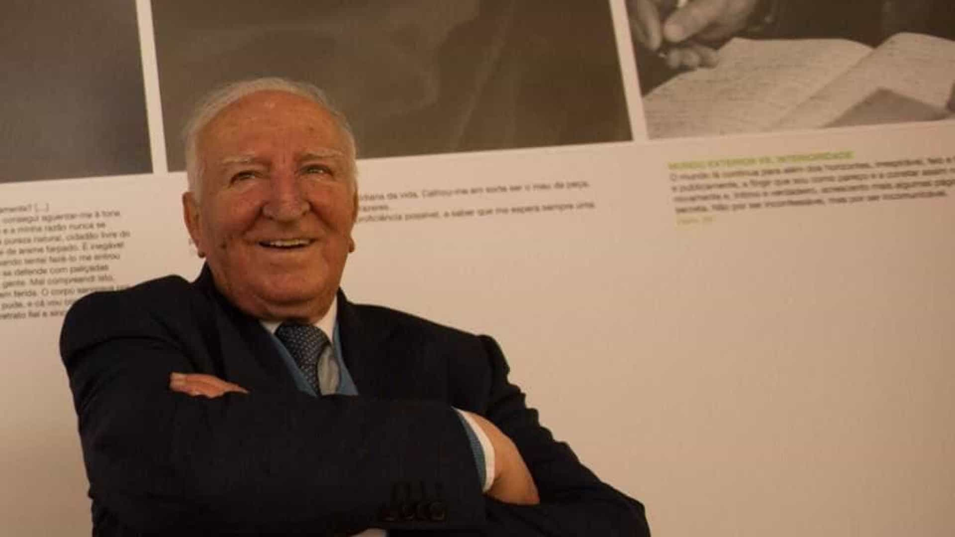 Ministro enaltece Eduardo Lourenço aos 95 anos por liberdade e lucidez