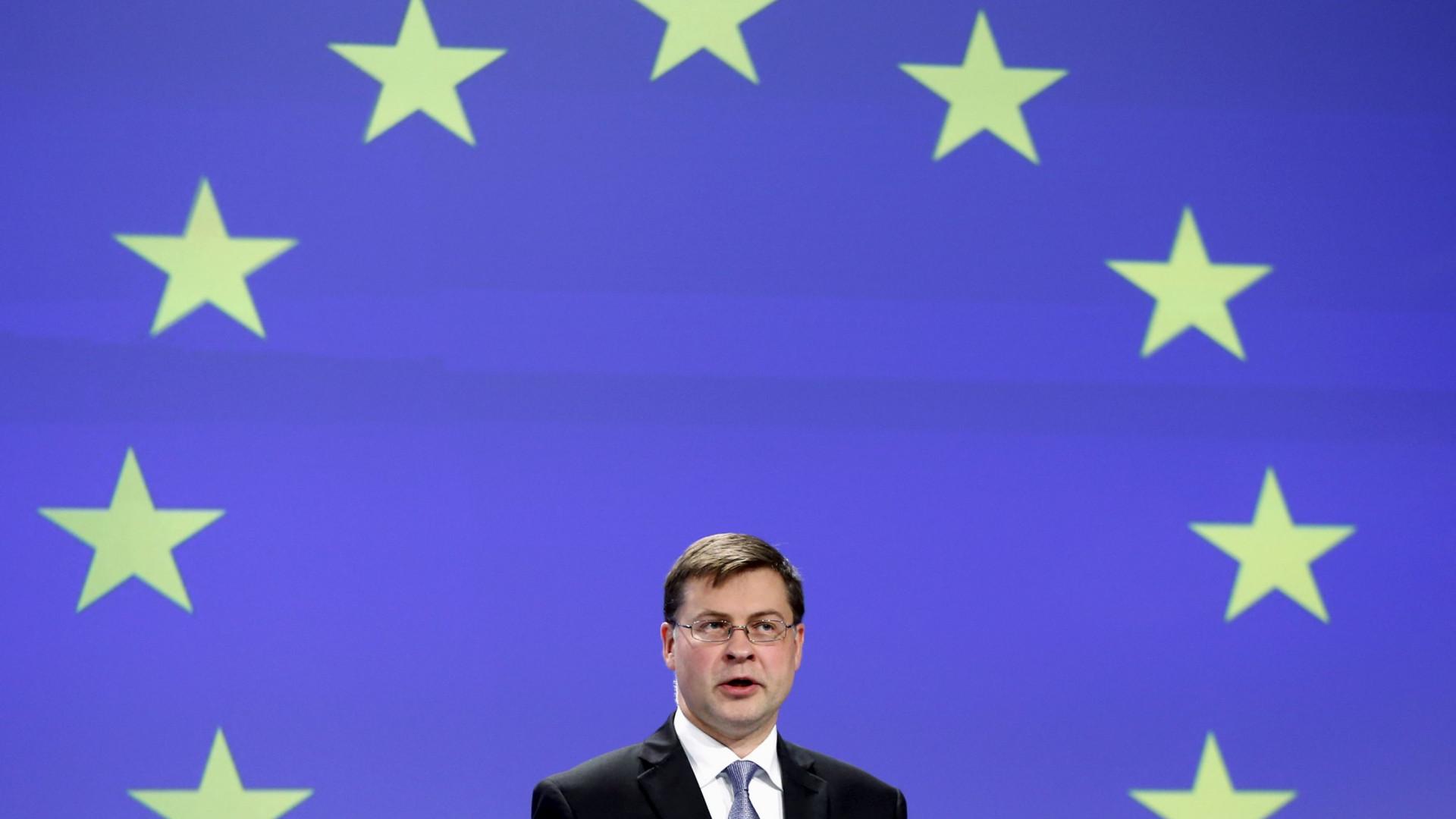 Vice-presidente da Comissão responsável pelo Euro vai estar em Lisboa