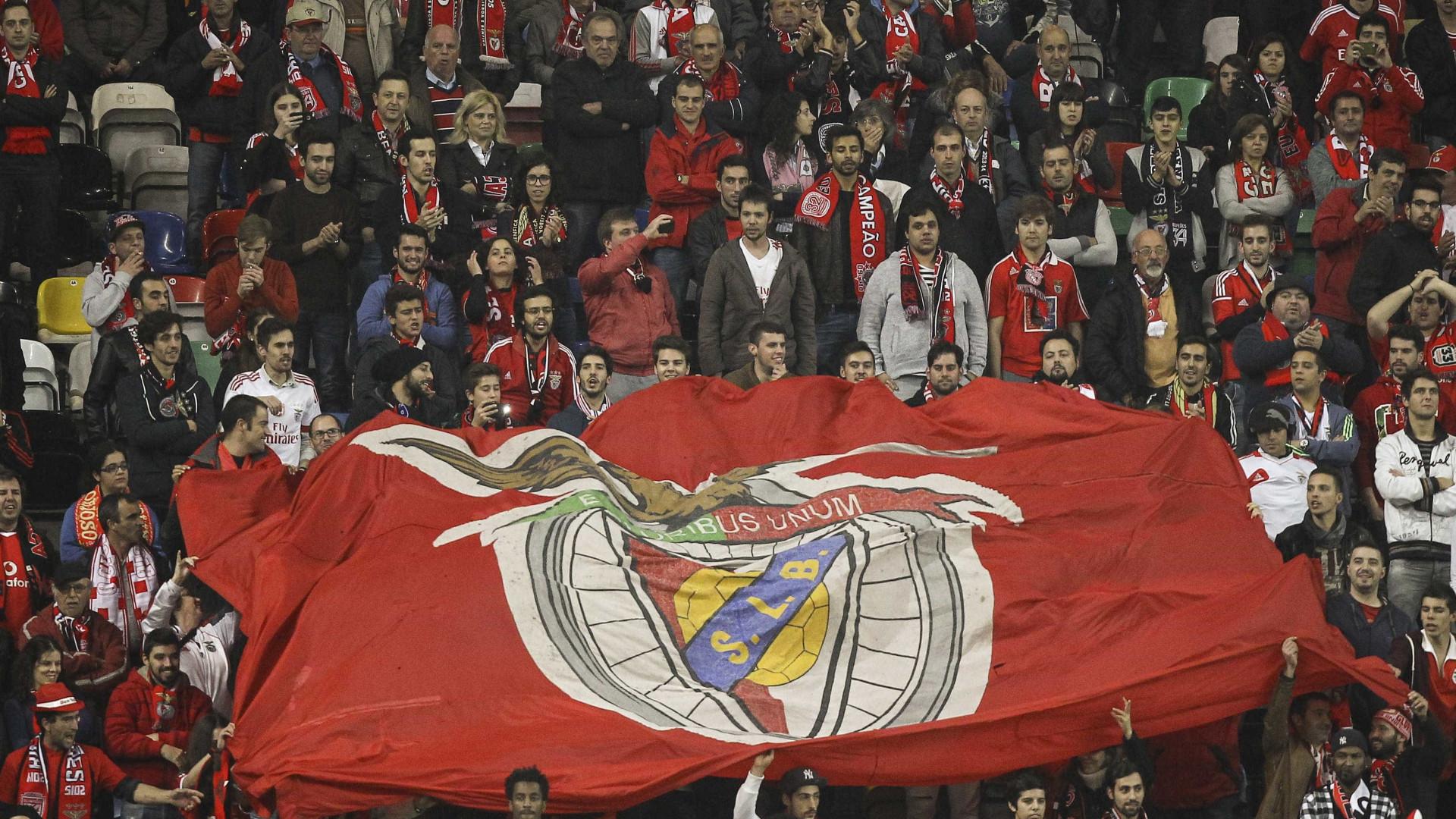 Benfica informa que já não há bilhetes para jogo com Feirense