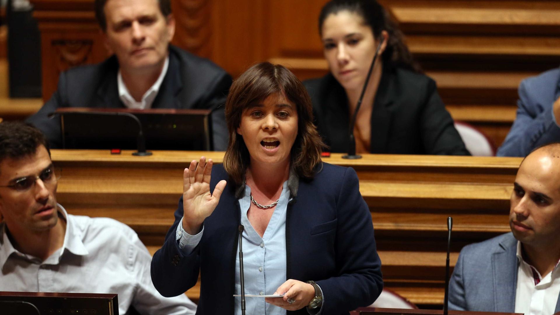 Jerónimo acusa Catarina Martins de ignorância sobre autarcas da CDU