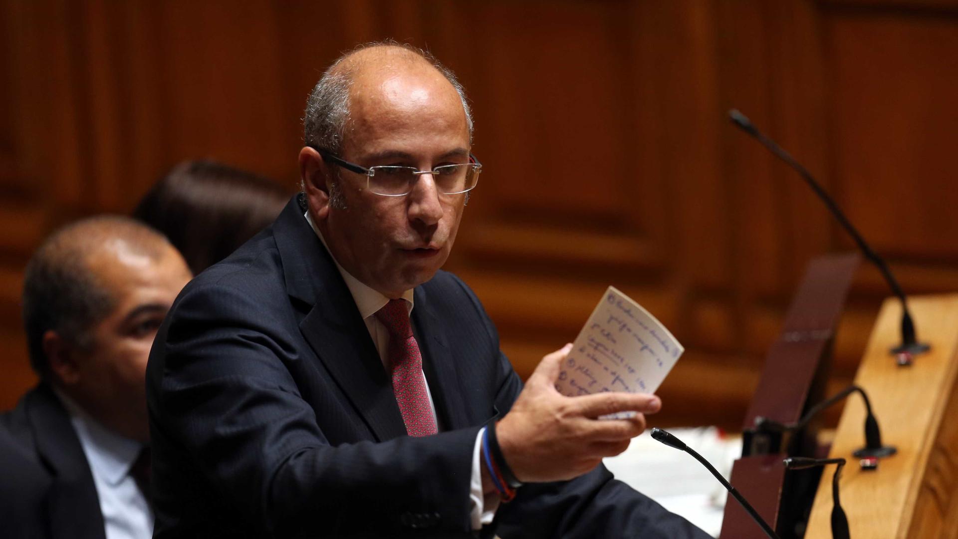 """CDS marca debate devido a """"descontentamento nas forças de segurança"""""""