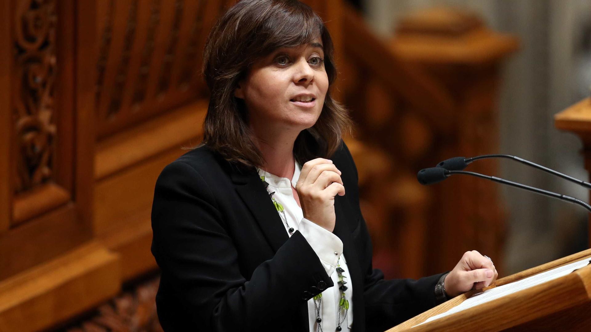 Catarina Martins desvaloriza adiamento de reunião com Governo