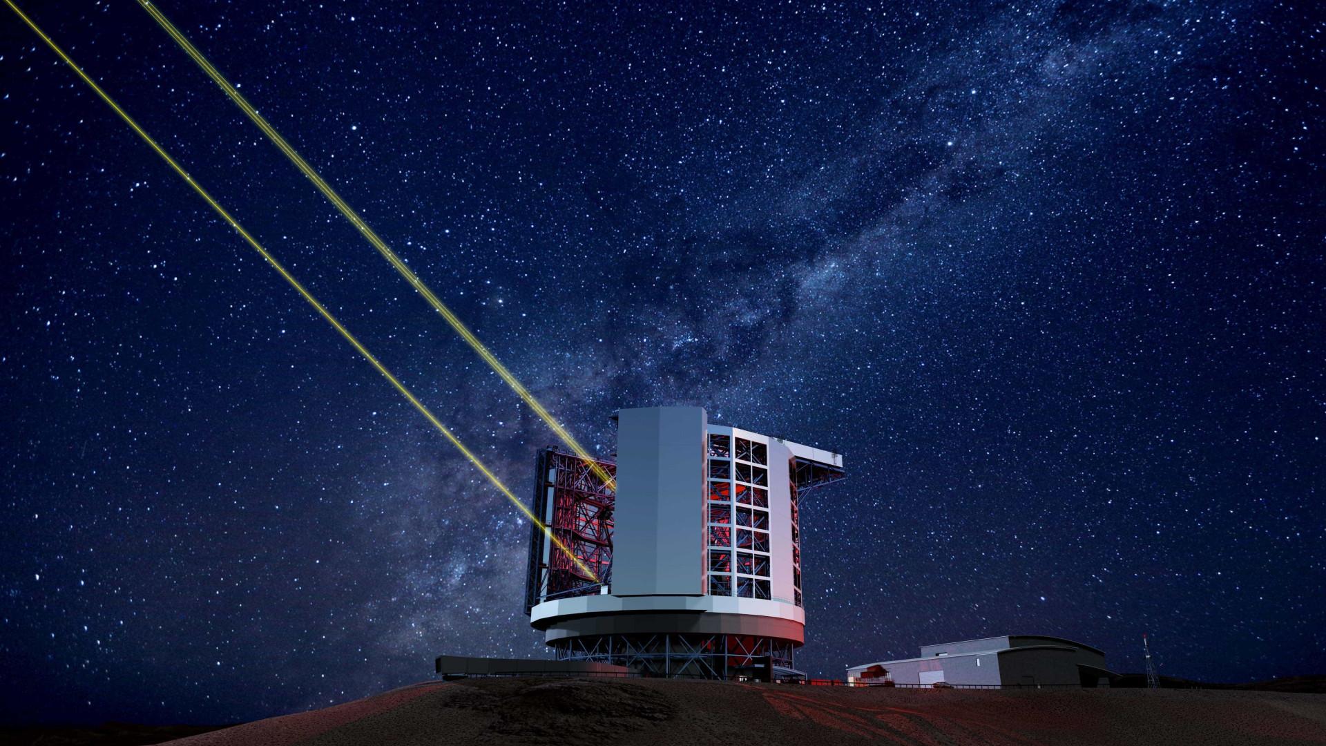 Maior telescópio do mundo já começou a ser construído