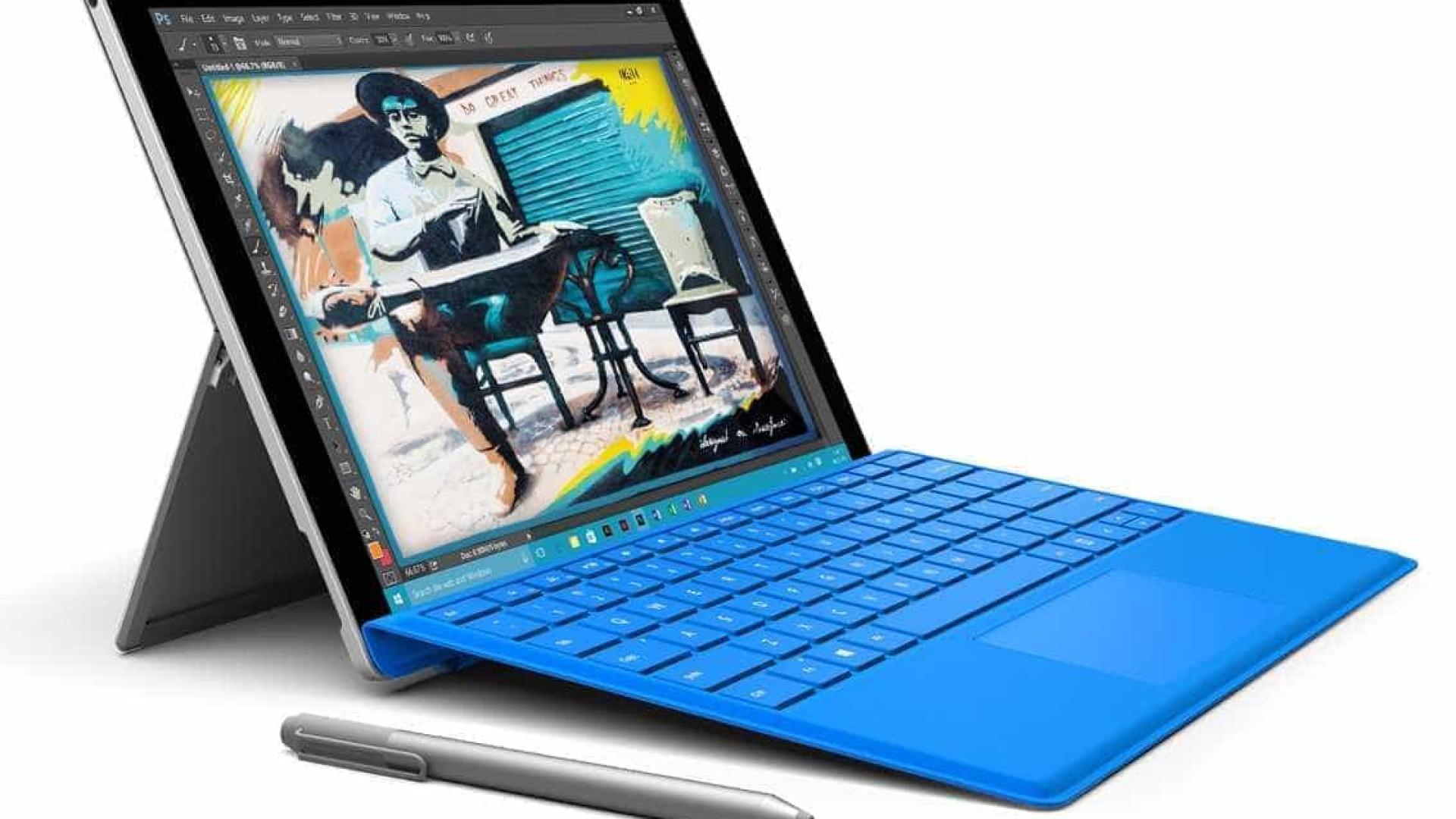 Problemas de ecrã no Surface Pro 4 dá direito a substituição