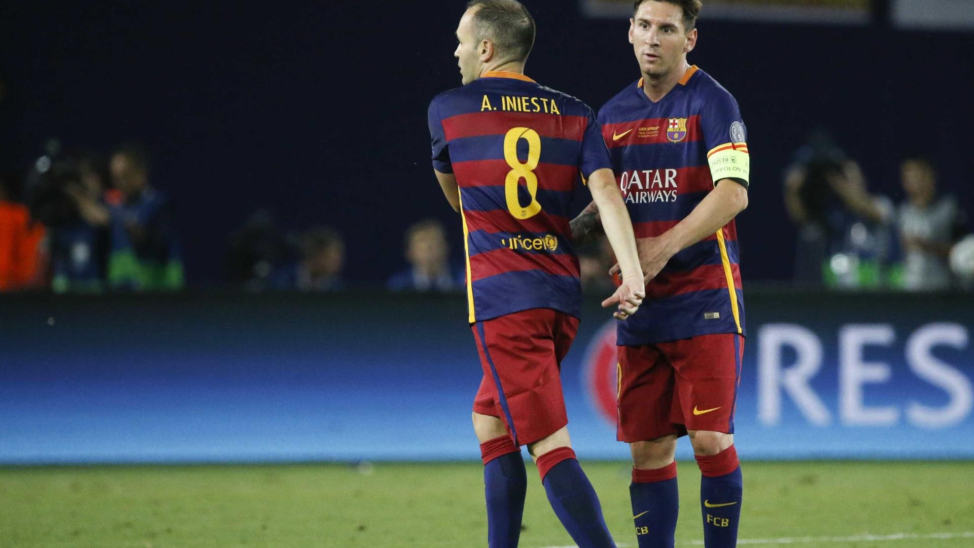 Continuidade no Barcelona? Iniesta deixa dúvidas no ar