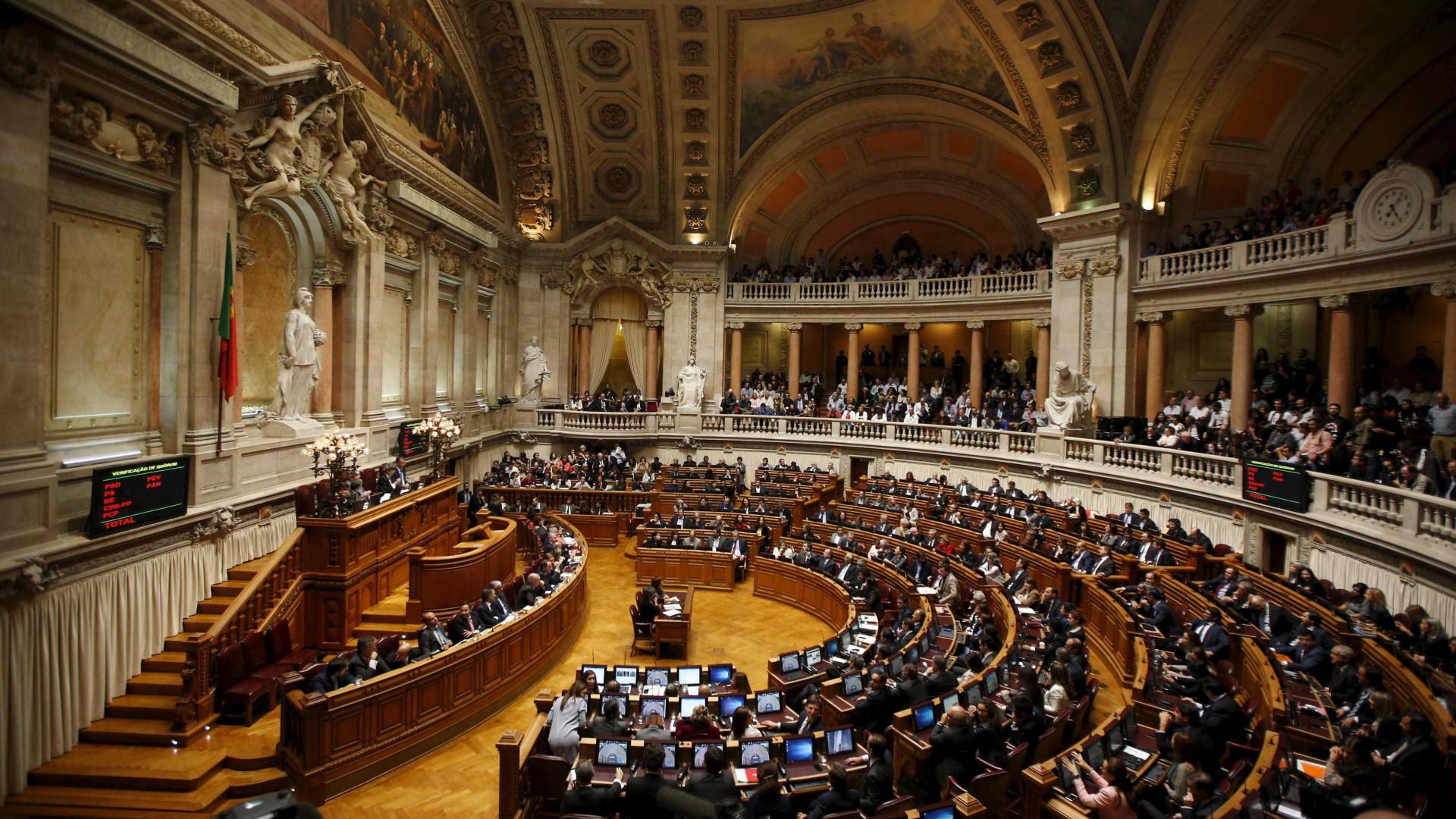 PSD, PS e CDS convergem na regulação do lobby, BE e PCP contra